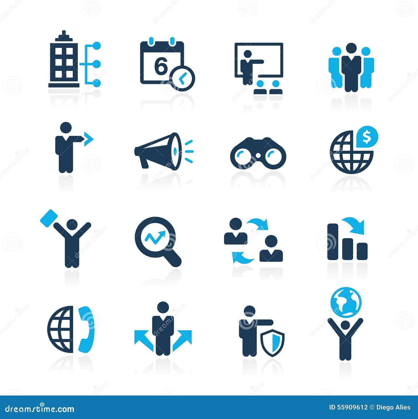 Búsqueda de las oportunidades y de las estrategias empresariales //Azure Series