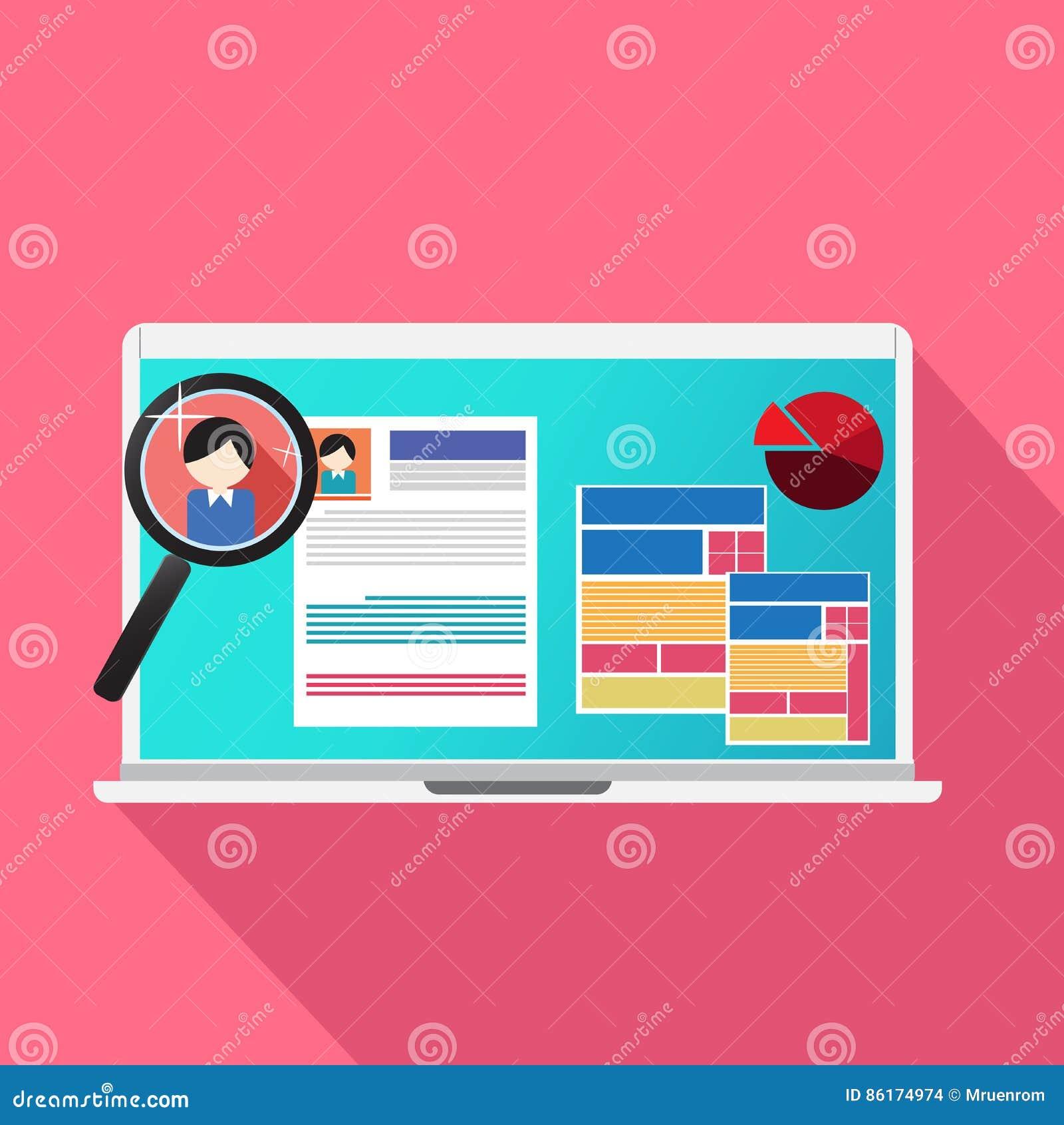 Búsqueda De Trabajo Y Buscador Del Sitio Web Para Buscar El ...