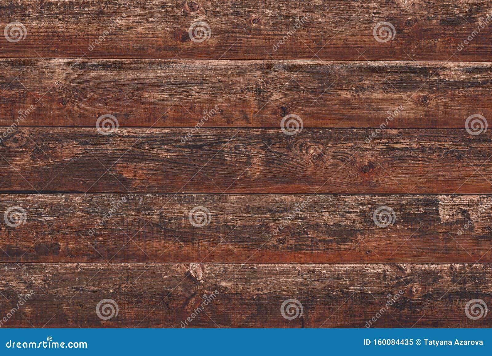 Morceau De Bois Brut bûche vétuste, fond en bois brut lignes horizontales sur la