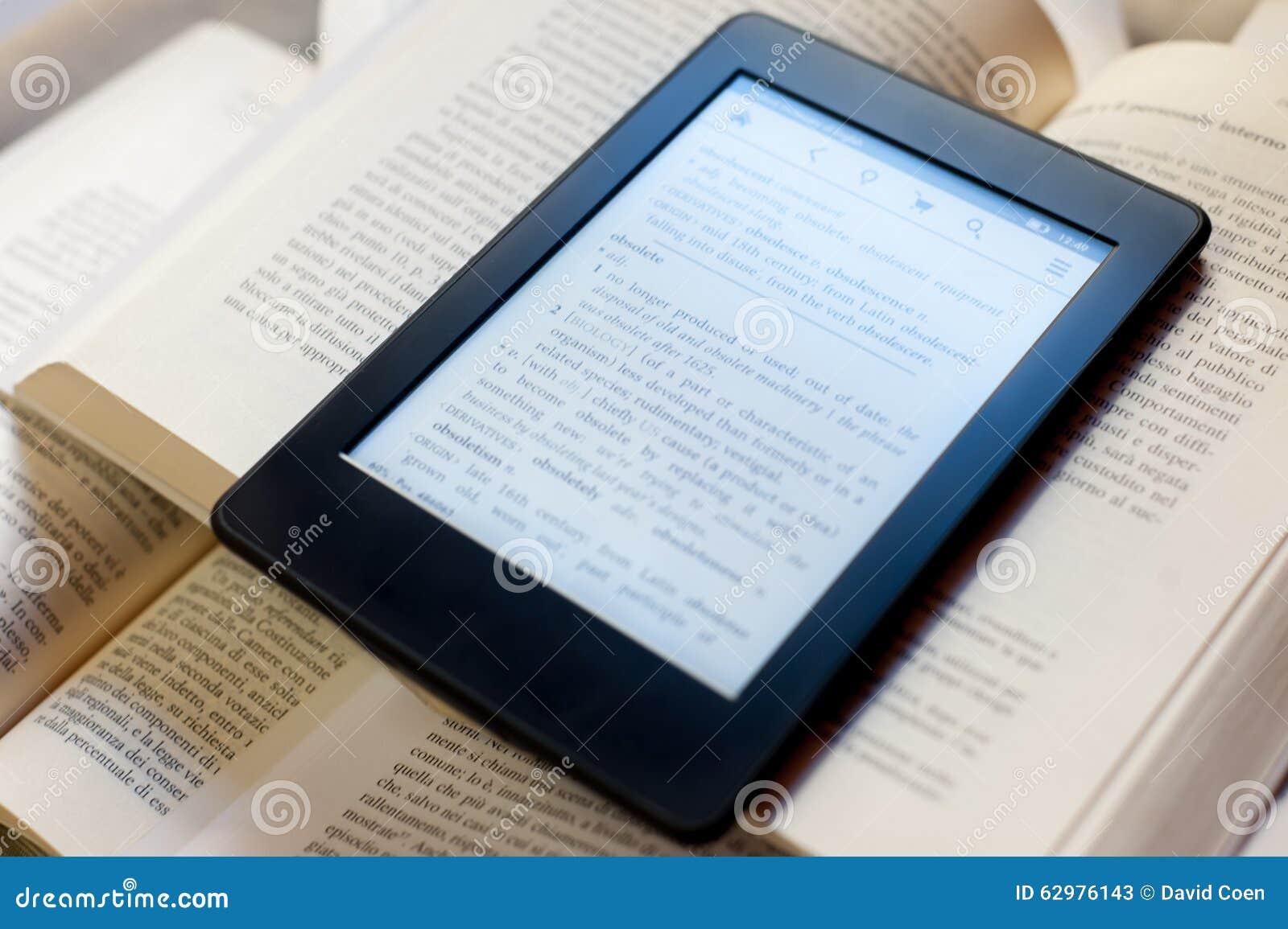 Bücher und ebook Leser