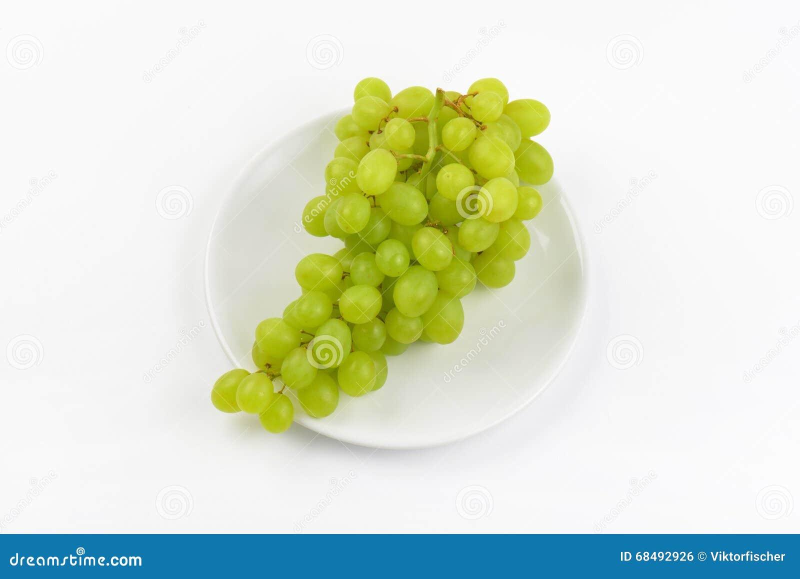 Bündel weiße Trauben