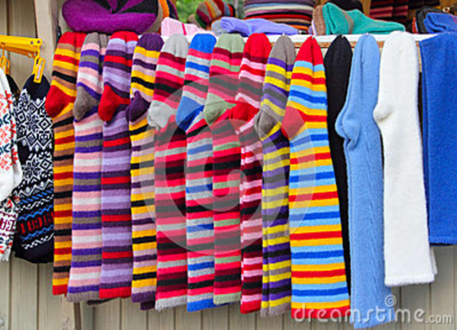 Bündel woolen Socken