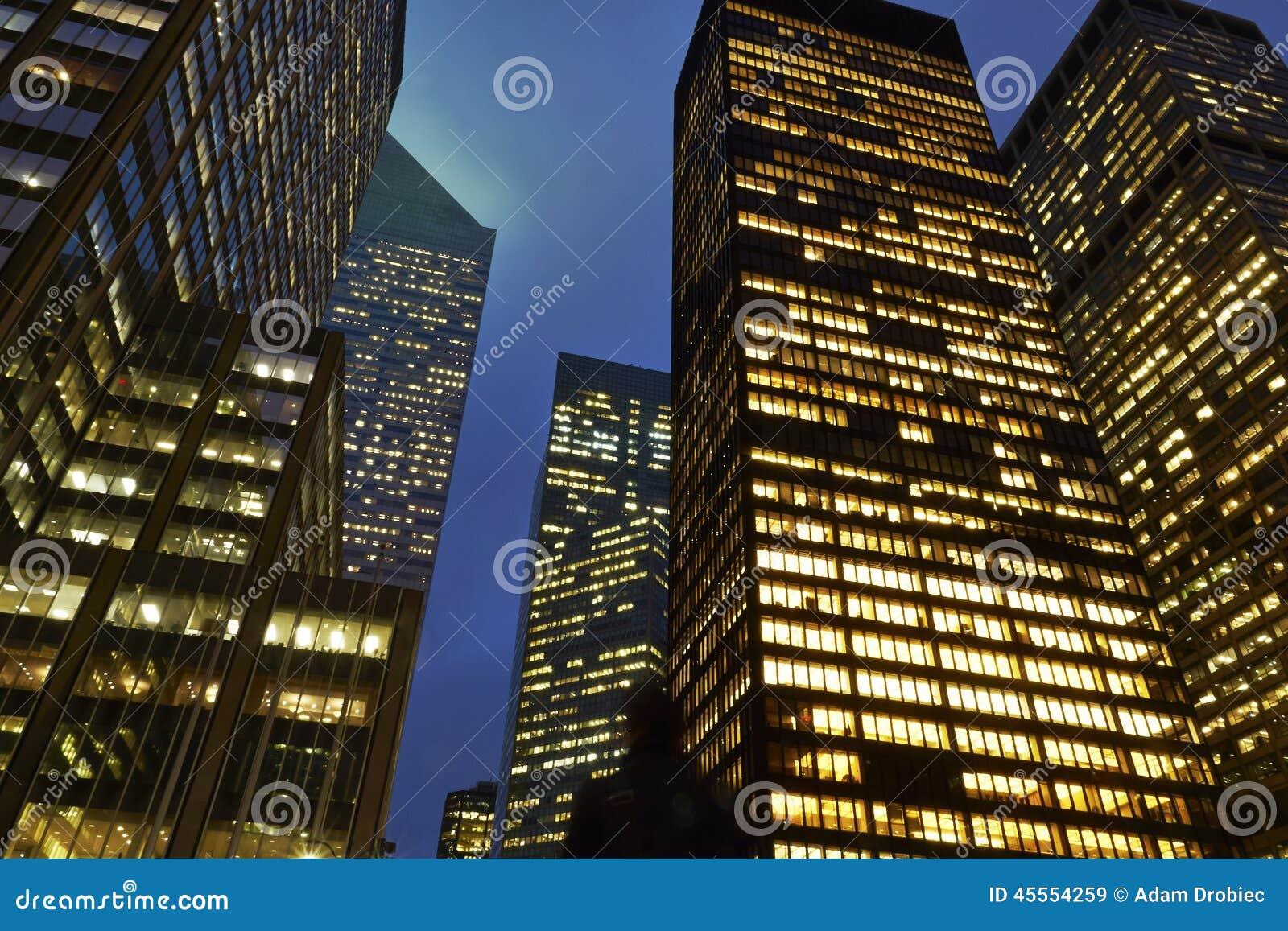 Bürogebäude in New York
