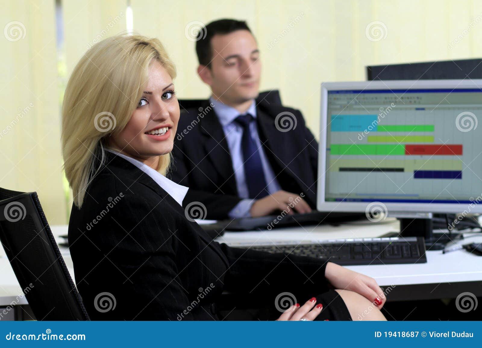 Bürokollegen