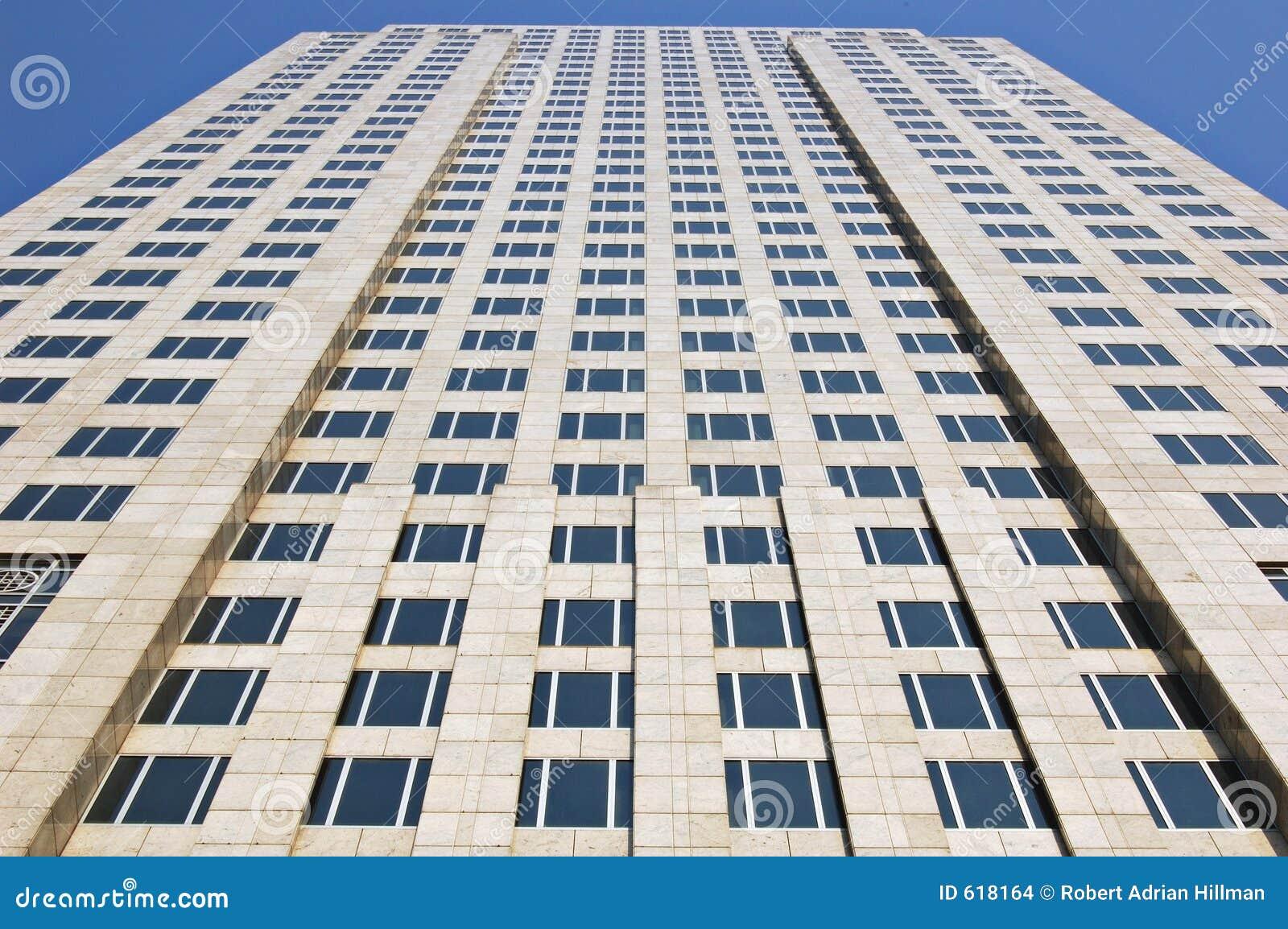Bürokontrollturm