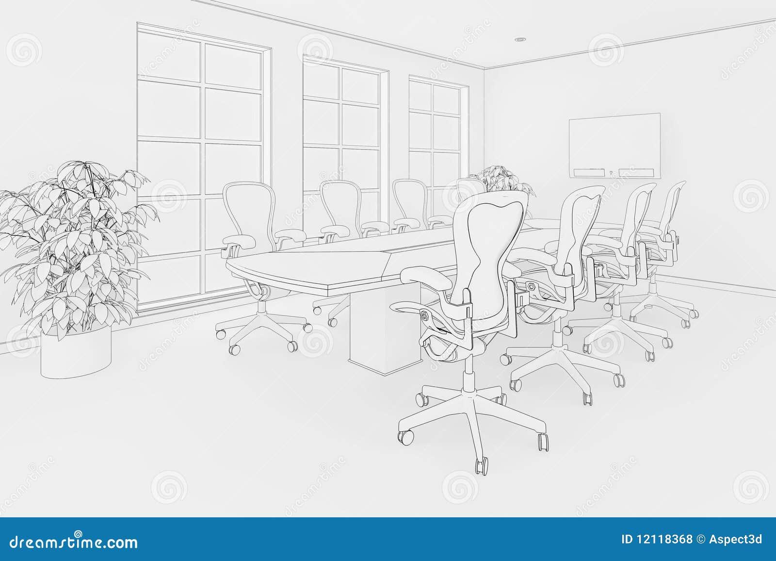 Bürolichtpause