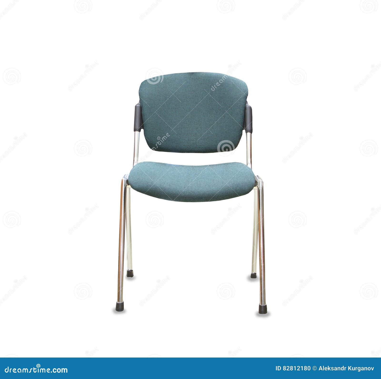 Bürostuhl weiß stoff  Bürostuhl Vom Grünen Stoff über Weiß Stockfoto - Bild: 82812180