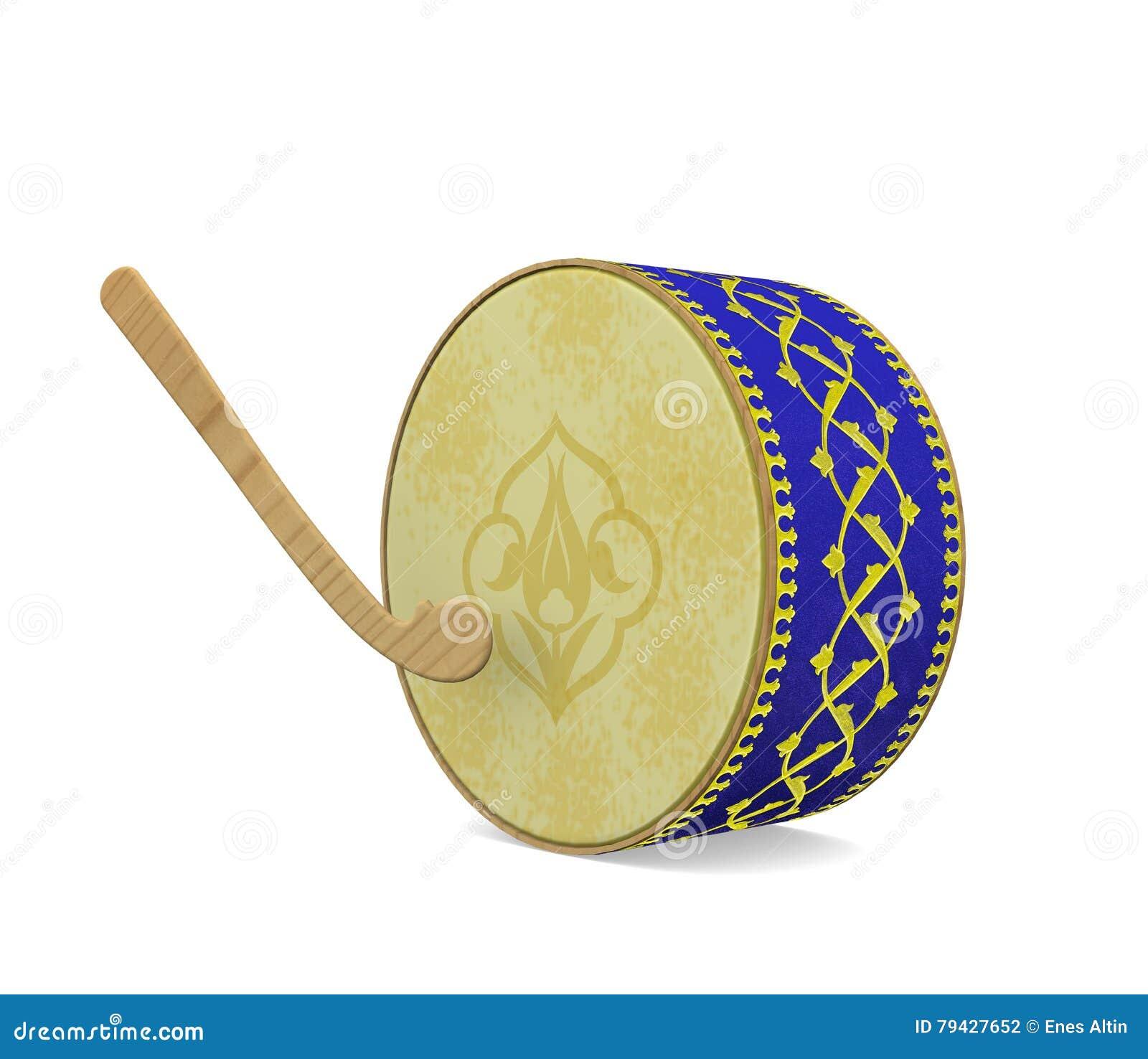 Bęben ramadan Turecki kultura instrument muzyczny