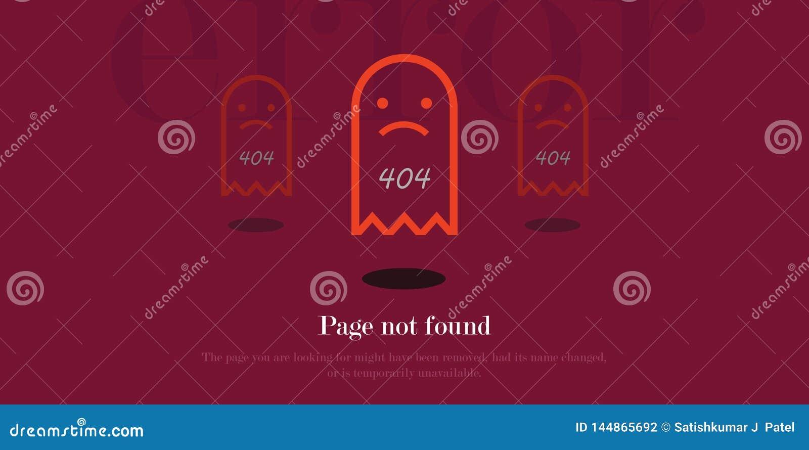 404 błąd strony znajdującej menchii czopują graficznego tło