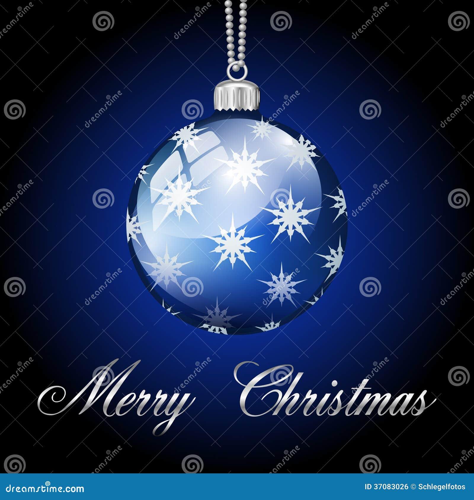 Download Błękitów Srebni Wesoło Boże Narodzenia Balowi Ilustracji - Ilustracja złożonej z wesoło, ilustracje: 37083026