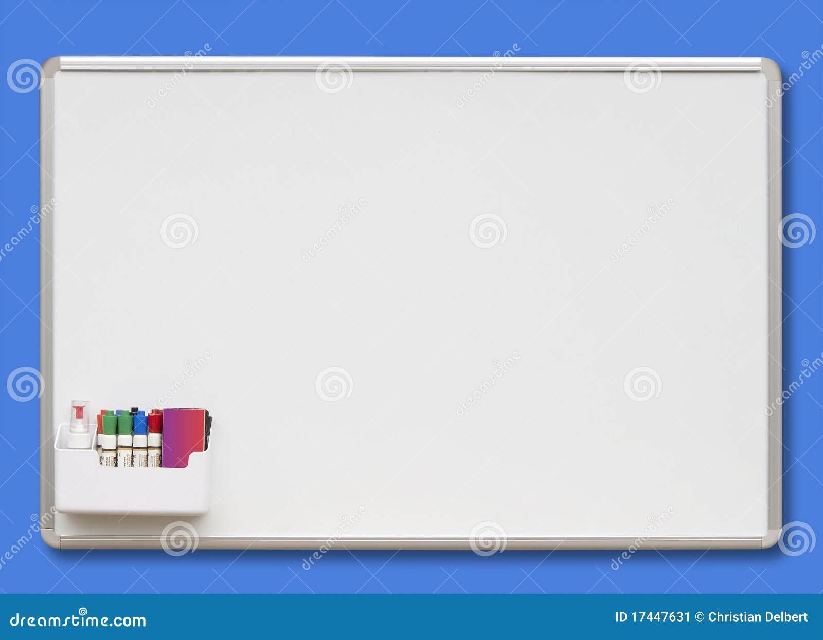 Błękit deski odosobniony biel