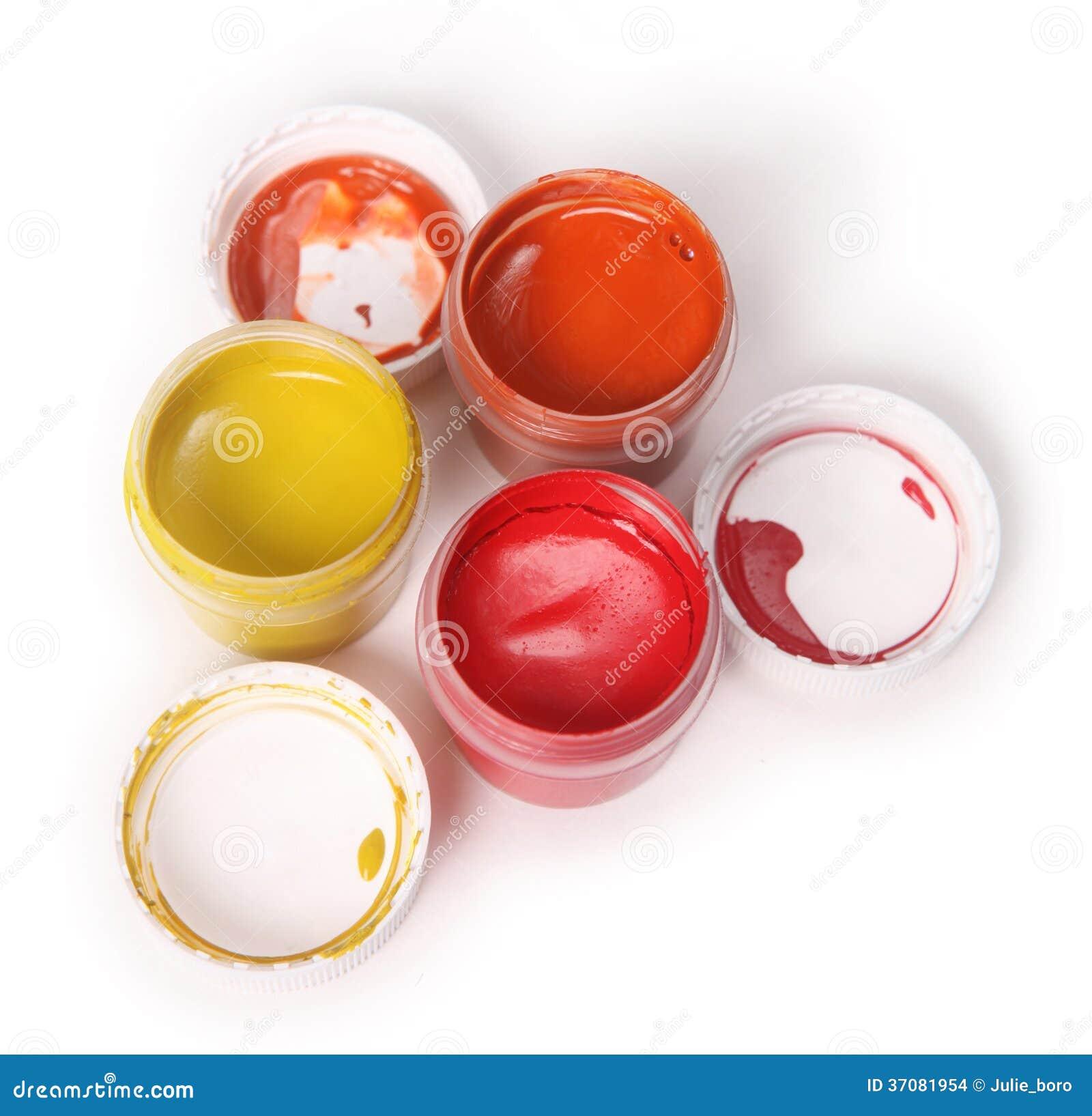 Download Błękit, Kolor żółty, Czerwony Guasz Zdjęcie Stock - Obraz złożonej z intensywny, kolor: 37081954