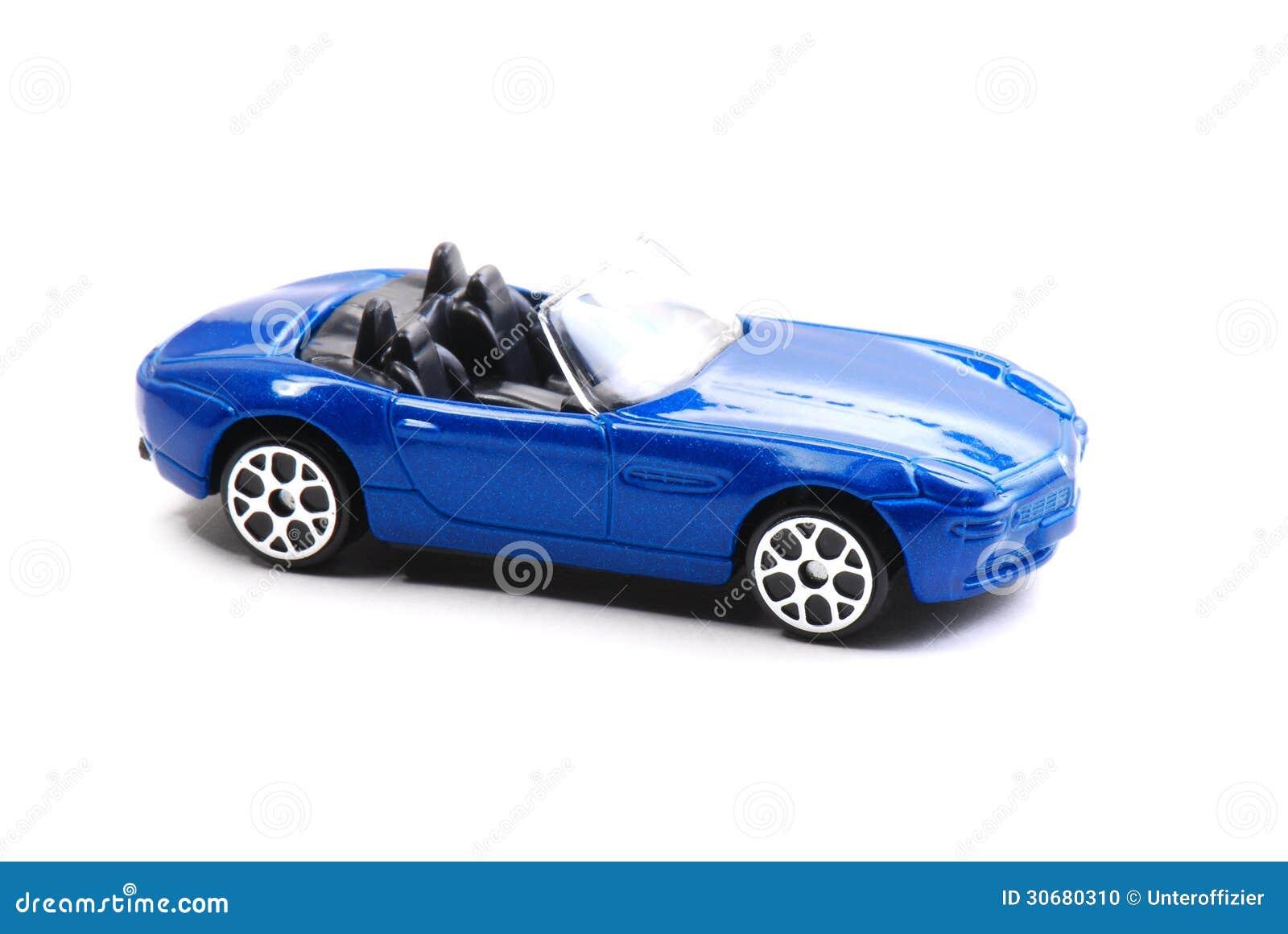 Błękita Zabawkarski samochód