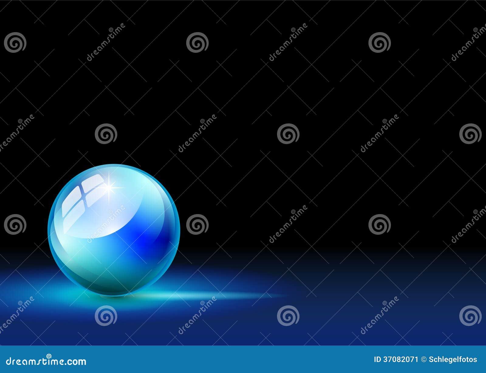 Download Błękitna sfera na tle ilustracji. Ilustracja złożonej z ikona - 37082071
