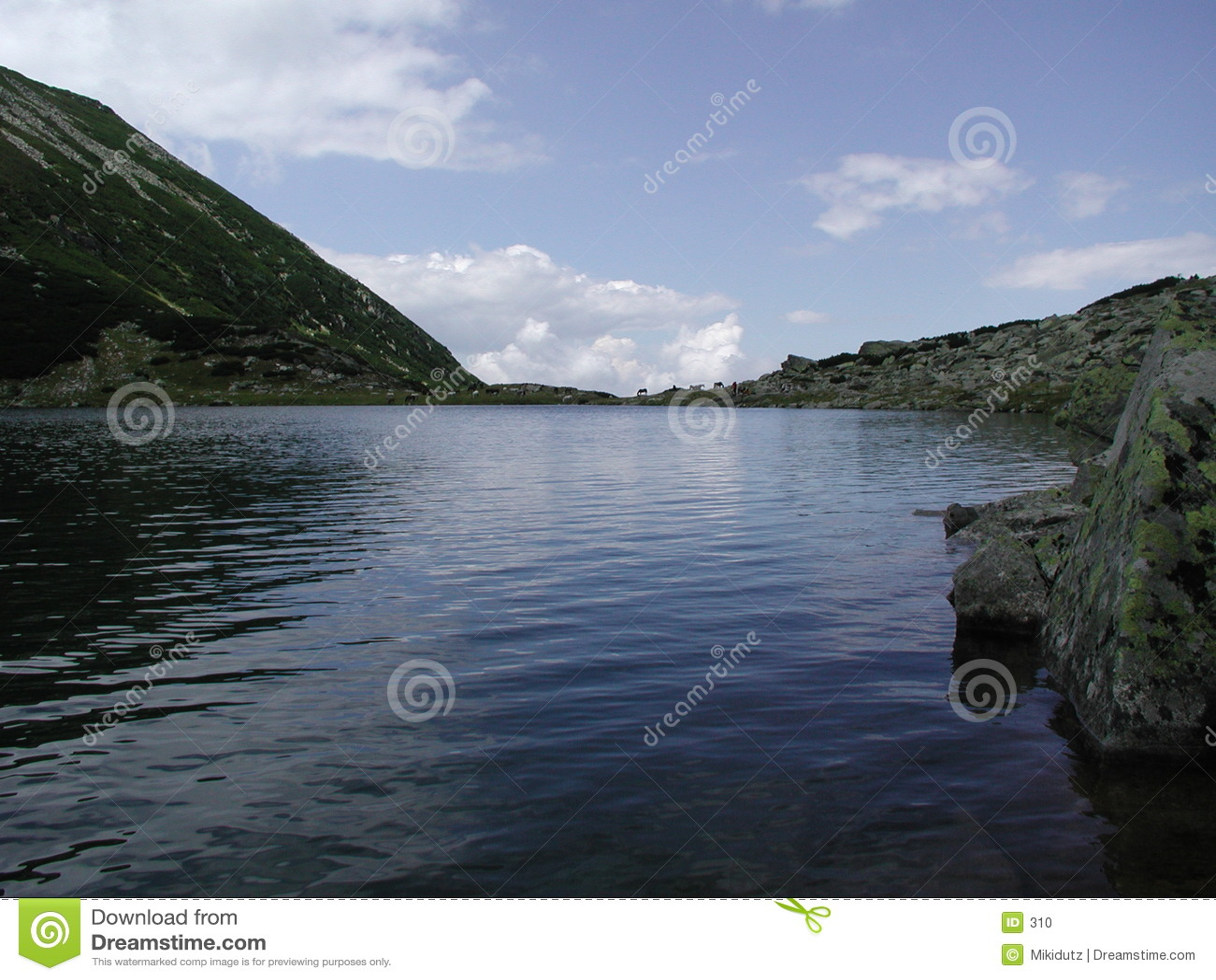 Błękitna woda