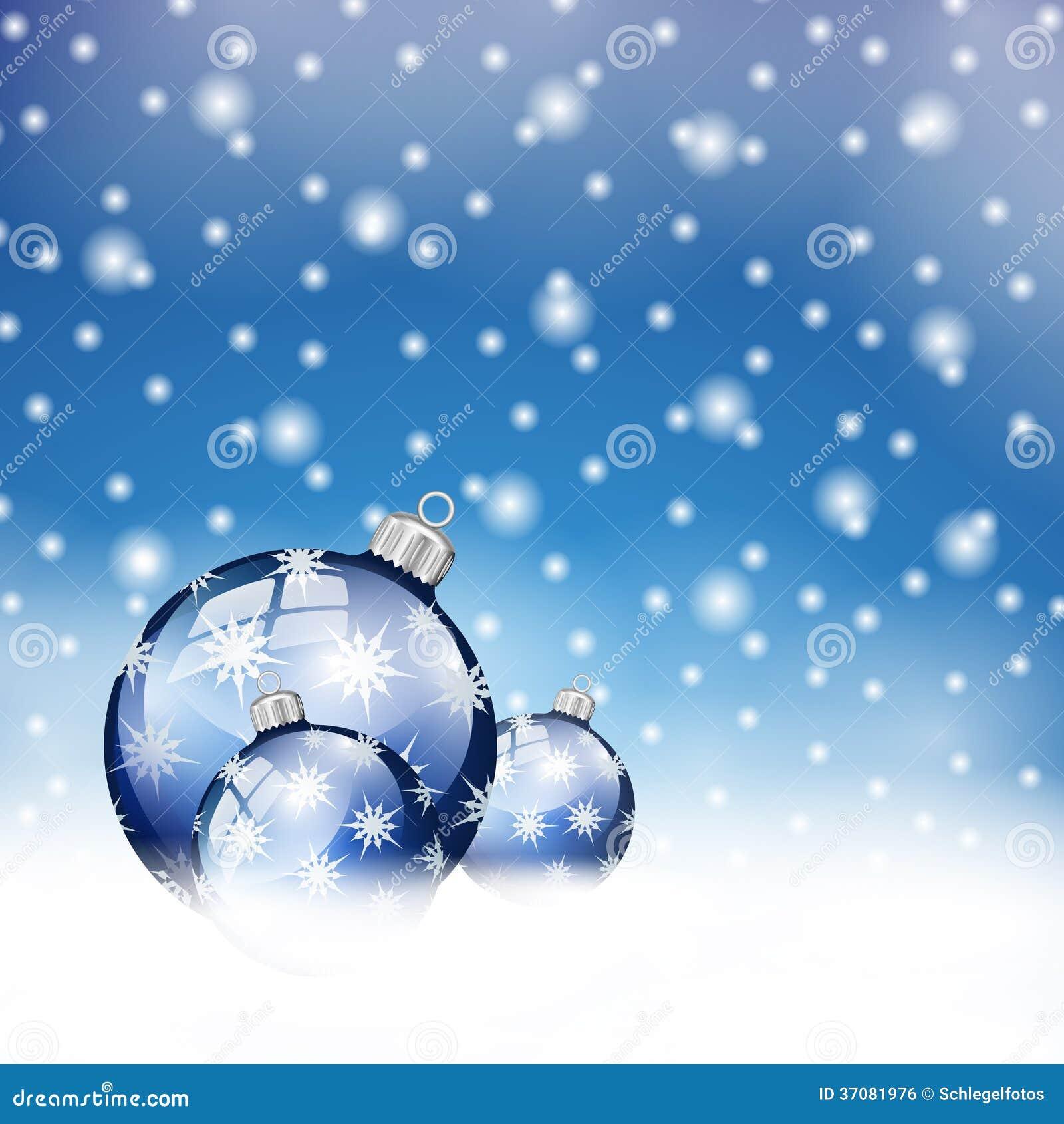 Download Błękitne Boże Narodzenie Piłki W śniegu Ilustracji - Ilustracja złożonej z świąteczny, sfera: 37081976