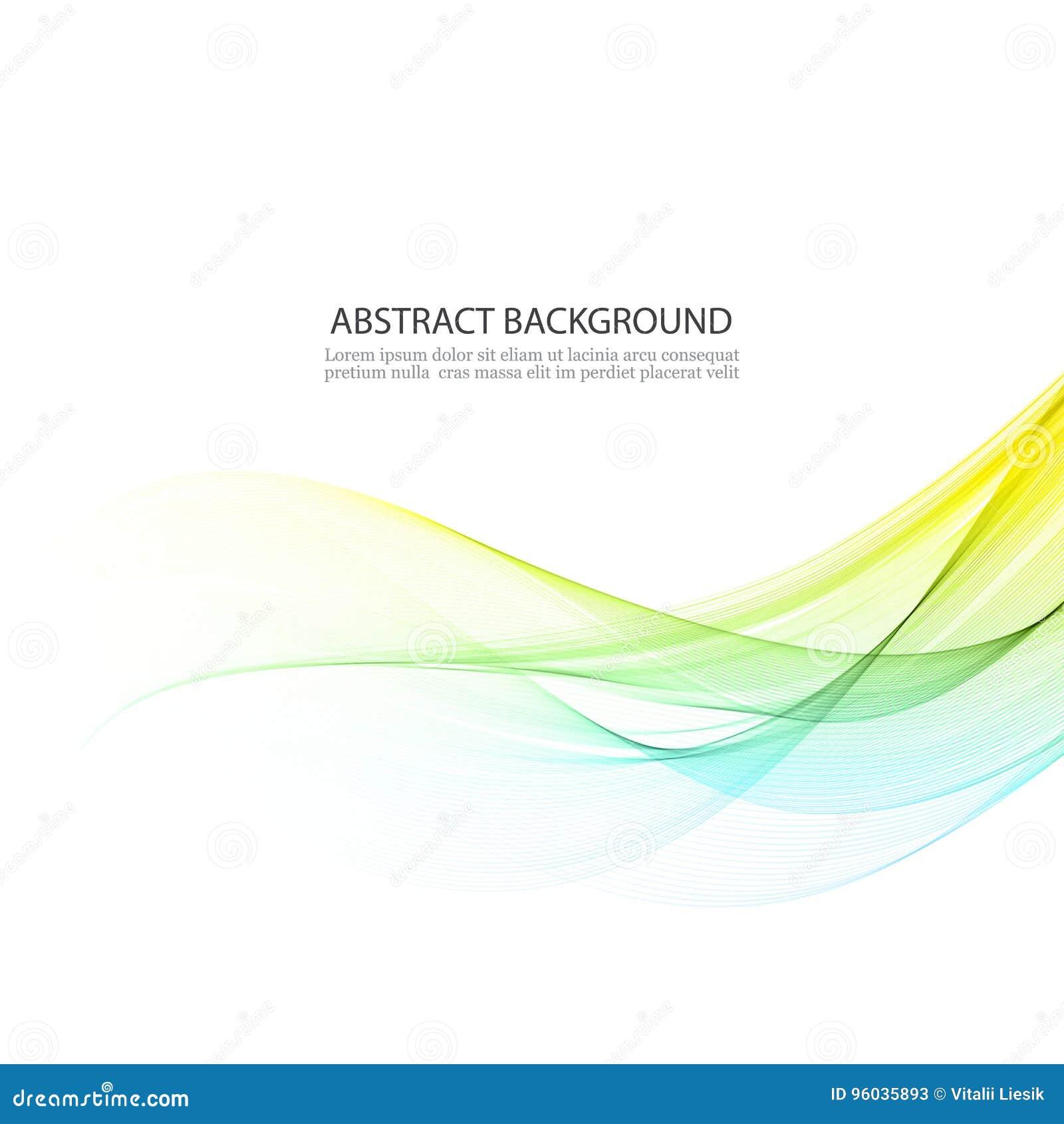 Błękitne i żółte linie w waveform