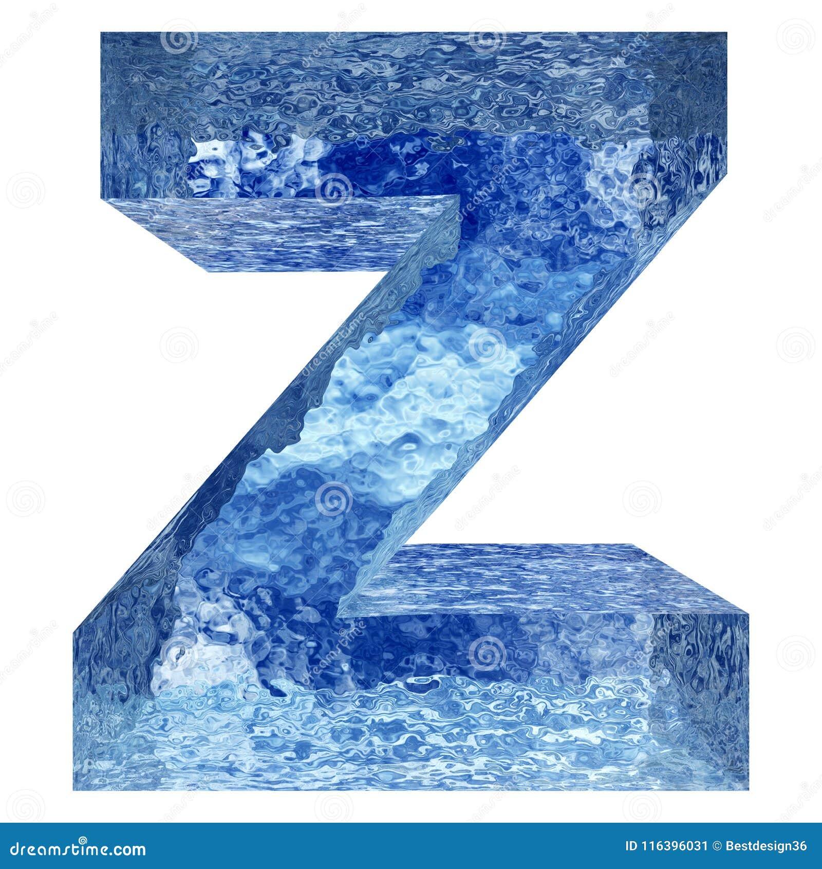 Błękitne wody lub lodu chrzcielnicy część colletion