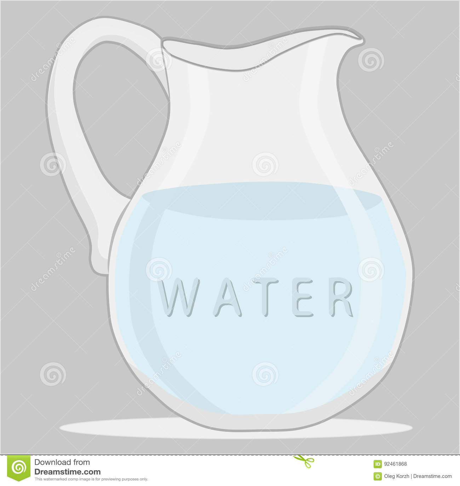 Błękitne wody w dzbanku