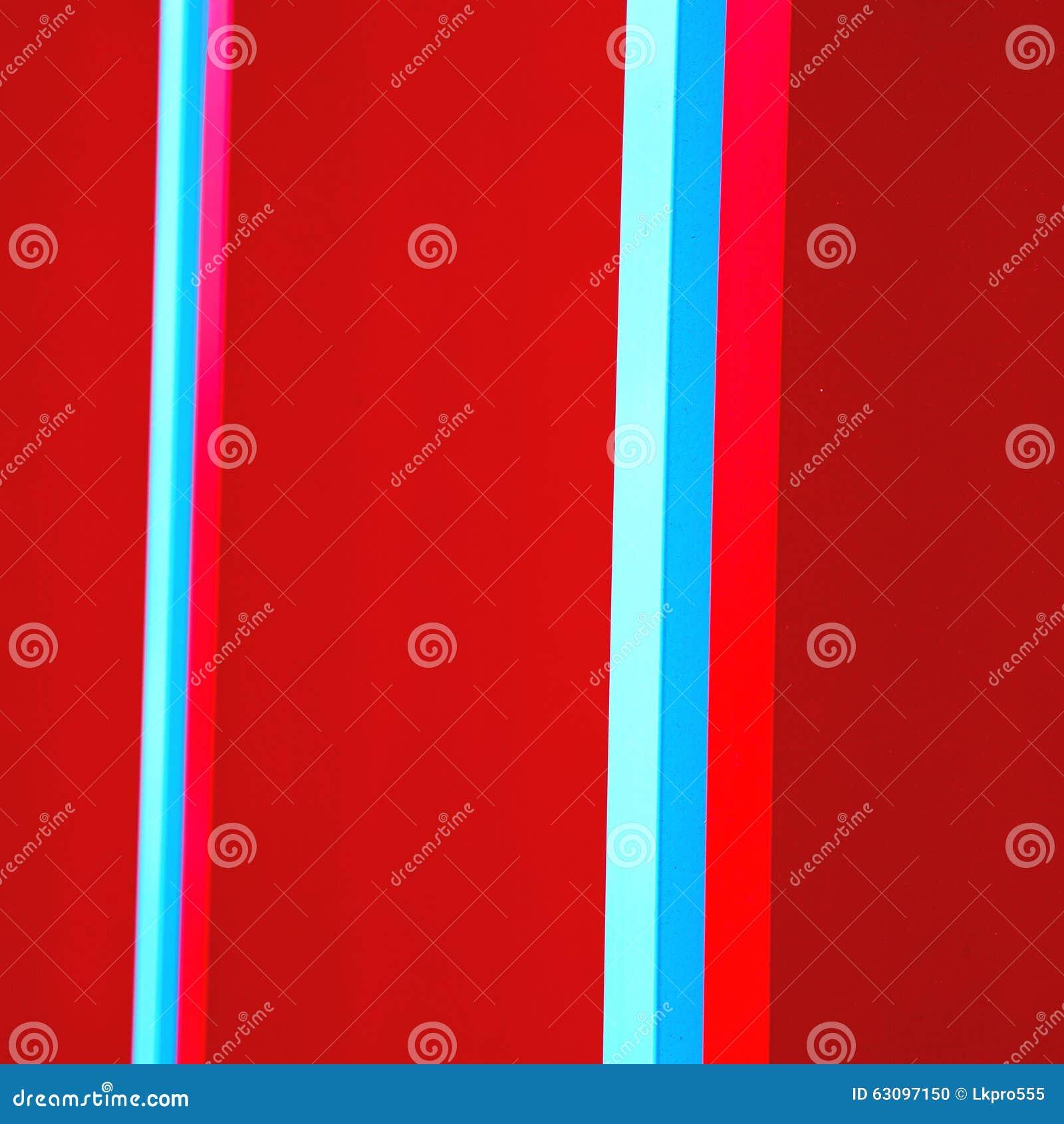 Błękitnej czerwieni abstrakcjonistyczny metal w englan London poręcza backg i stali
