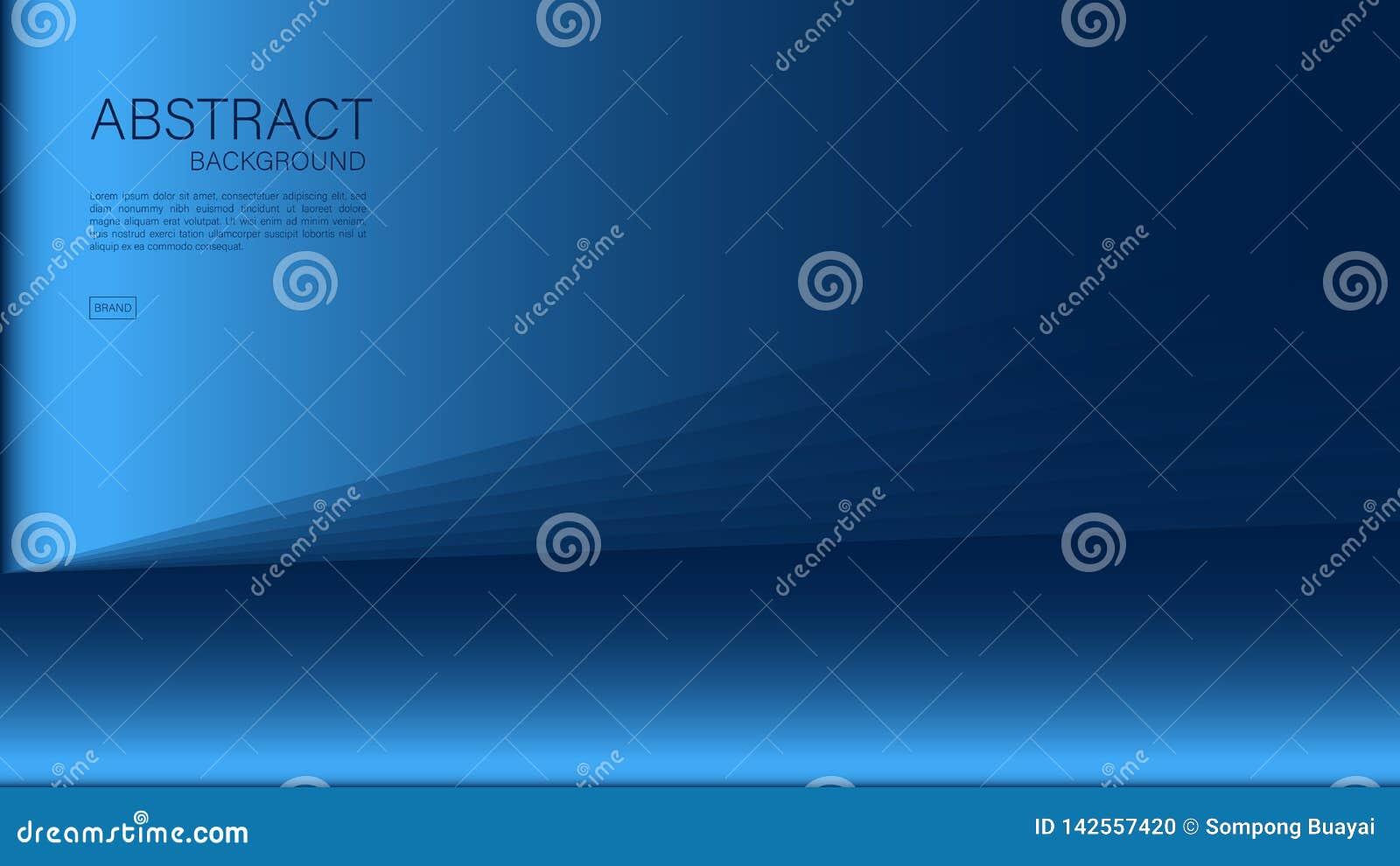 Błękitny abstrakcjonistyczny tło, wielobok, Geometryczny wektor, grafika, Minimalna tekstura, okładkowy projekt, ulotka szabl