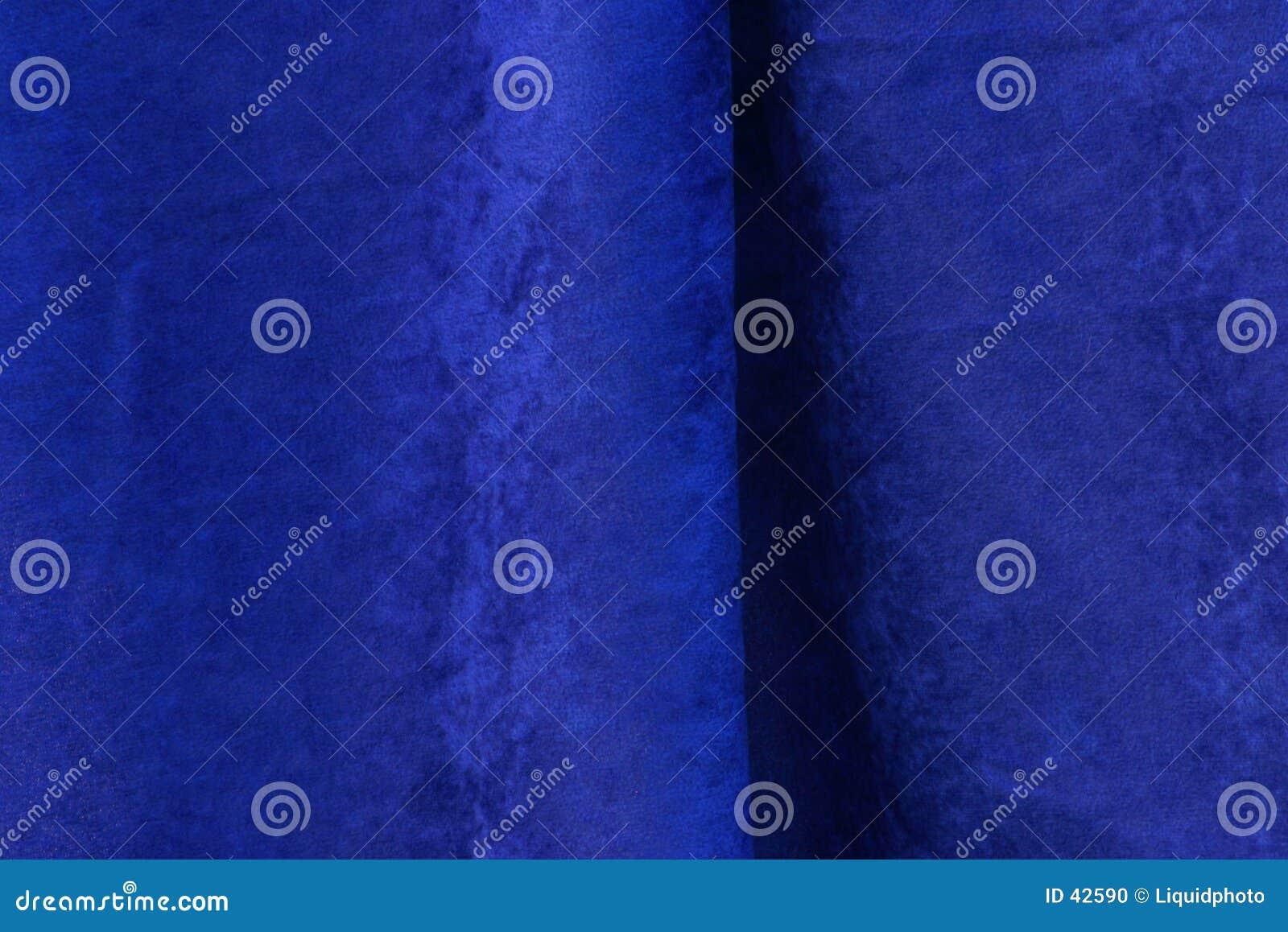Błękitny aksamit tekstury tkaniny