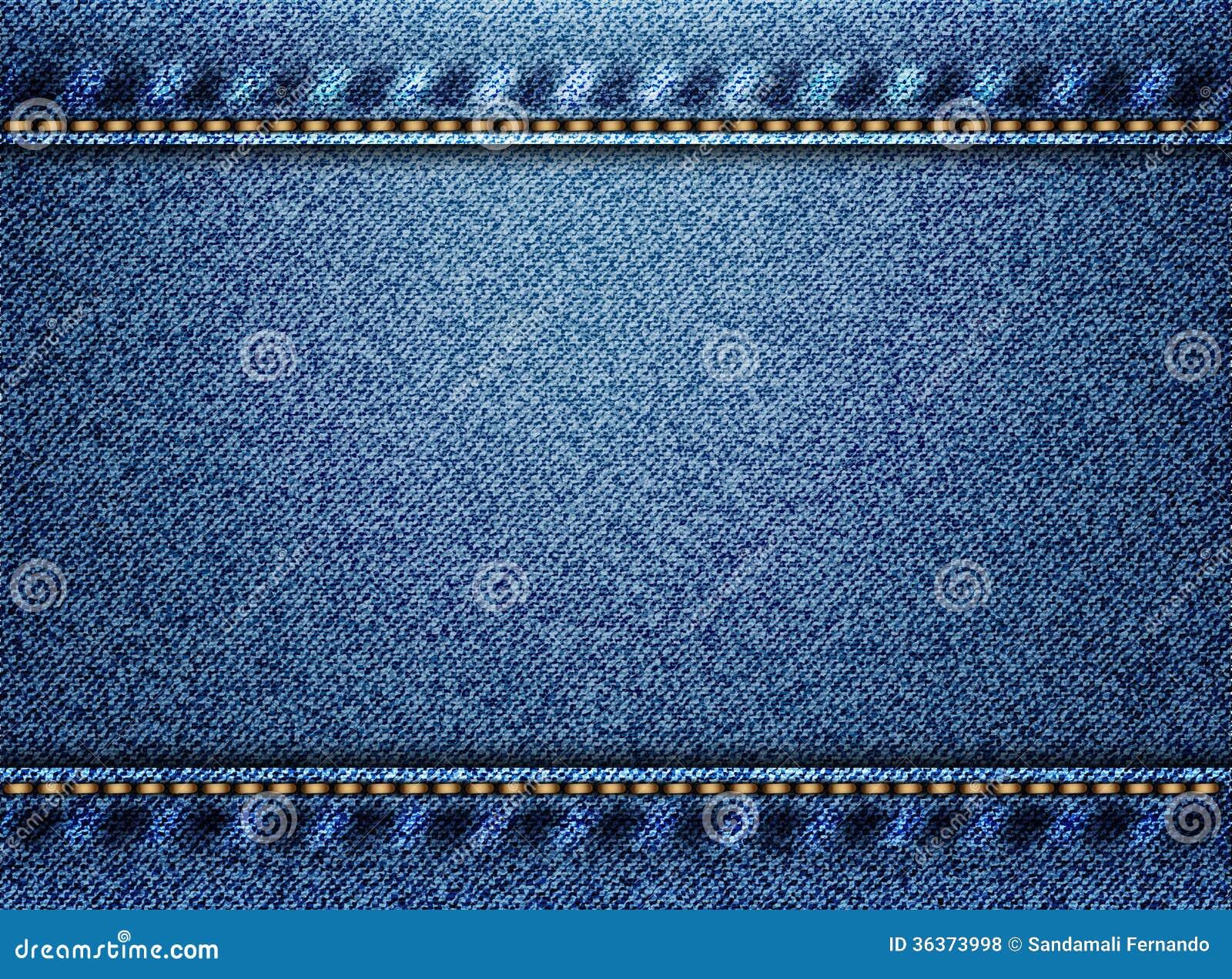 Błękitny drelichowy tekstury tło