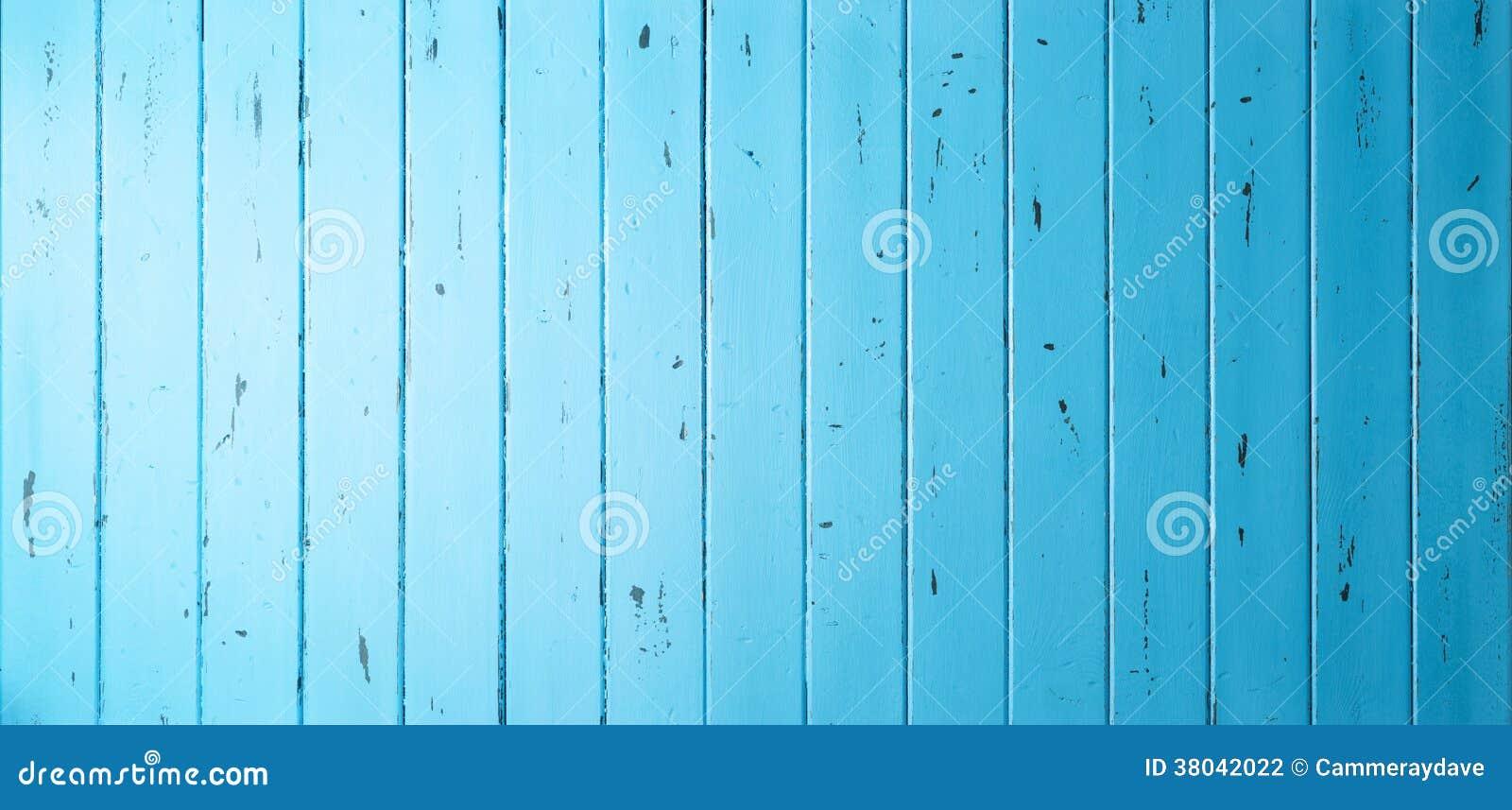 Błękitny Drewniany sztandaru tło