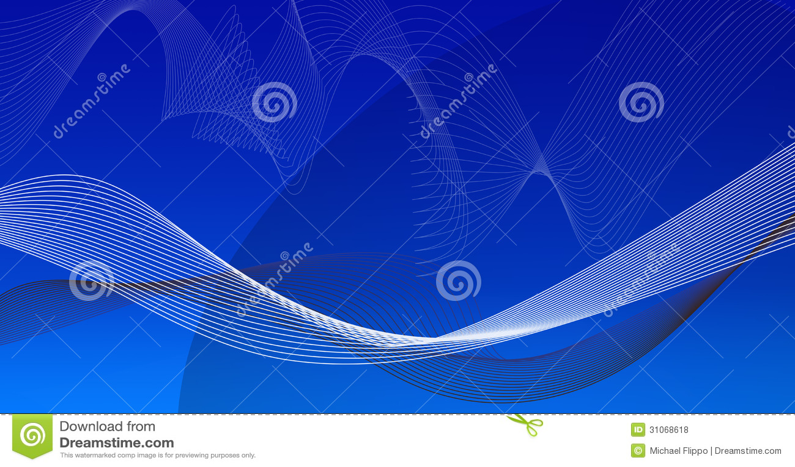 Błękitny gradientowy tło