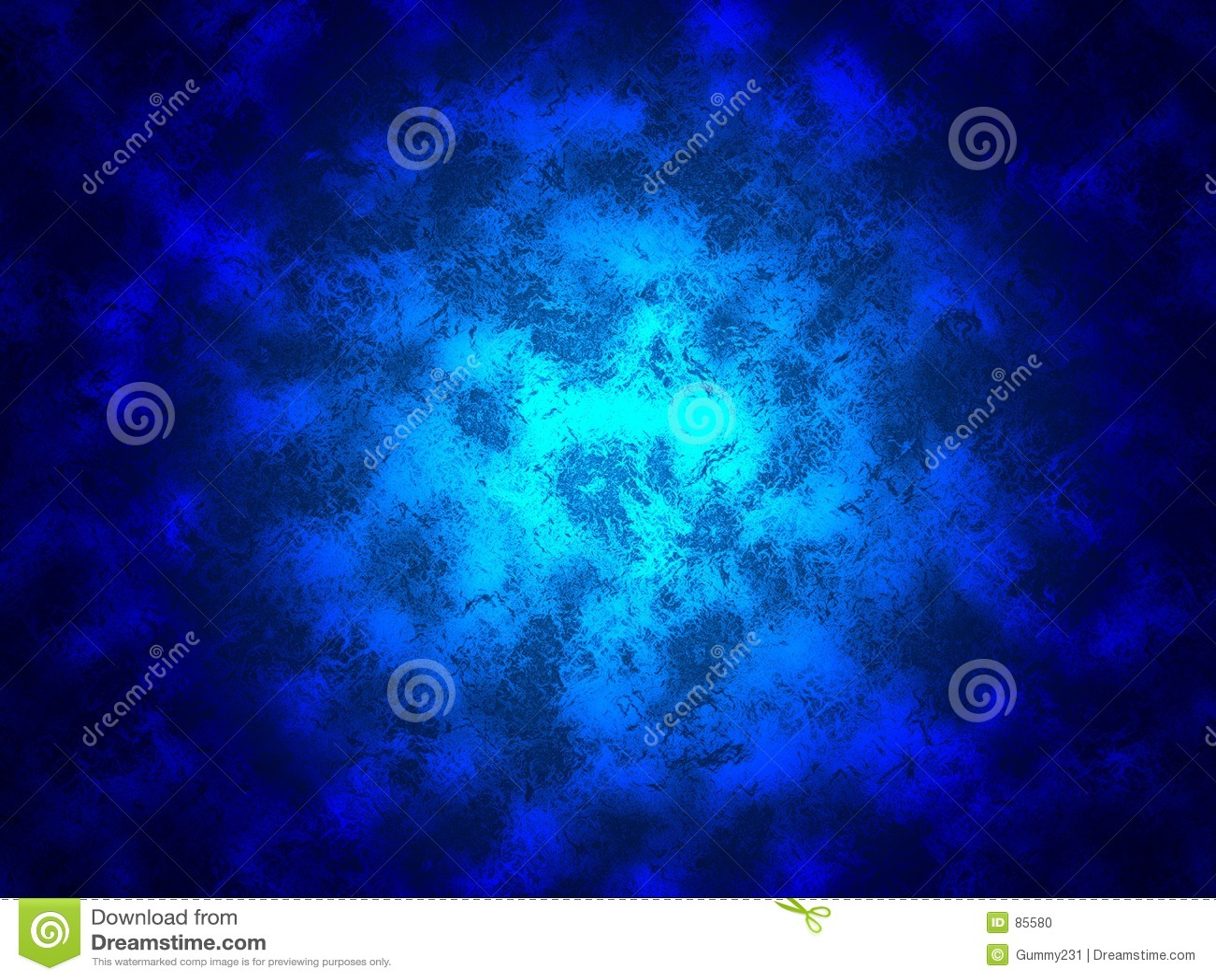 Błękitny kwiatek