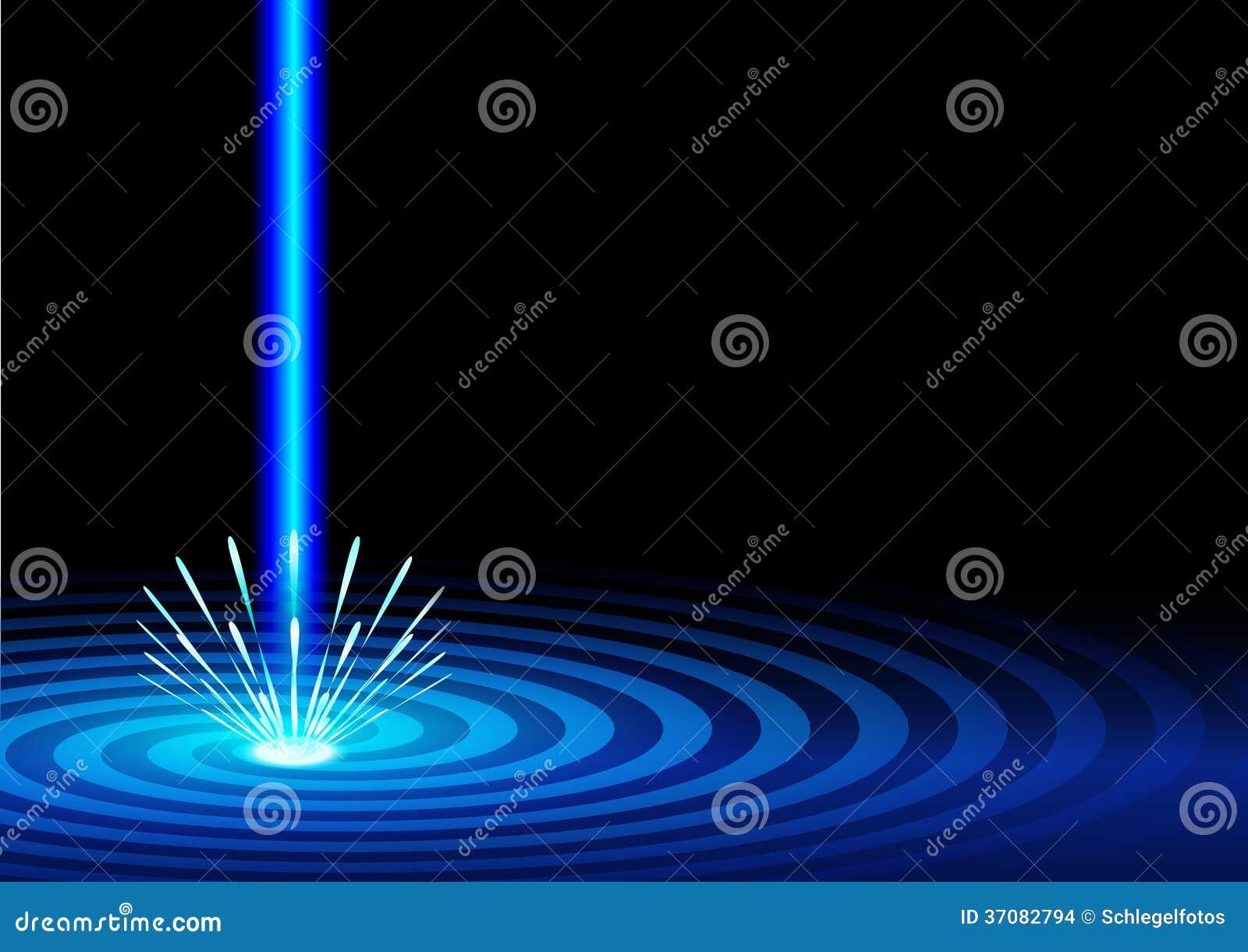 Download Błękitny laserowy tło ilustracji. Ilustracja złożonej z błękitny - 37082794