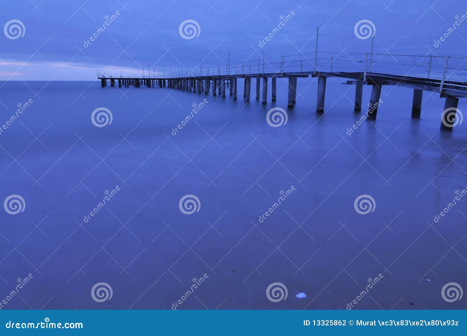 Błękitny morze