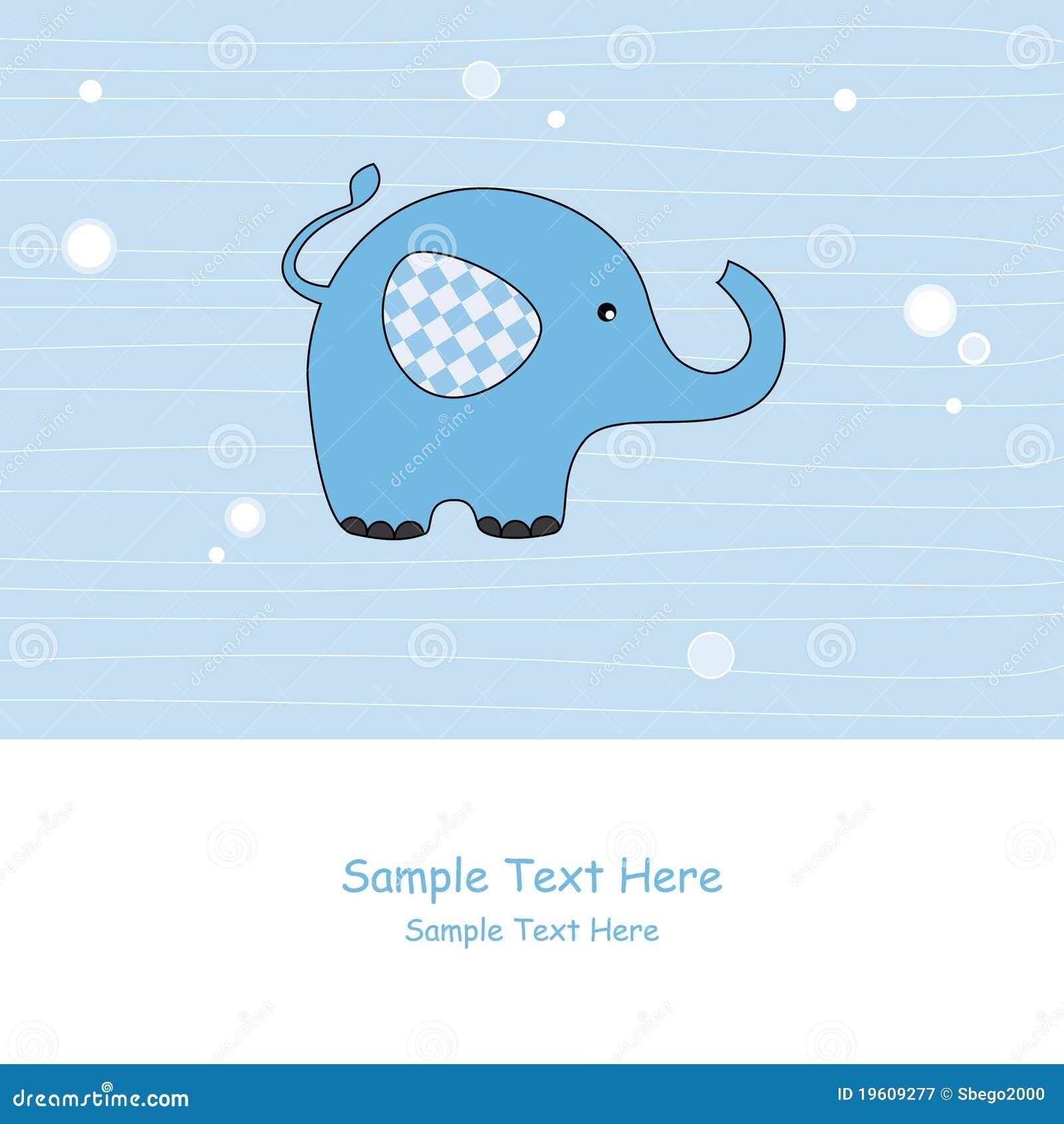 Błękitny słoń