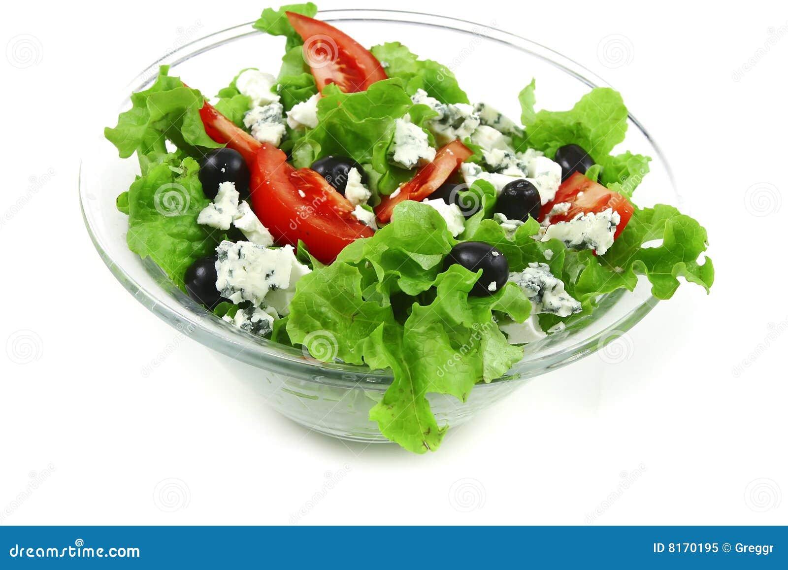 Błękitny sera sałatkowy warzywo