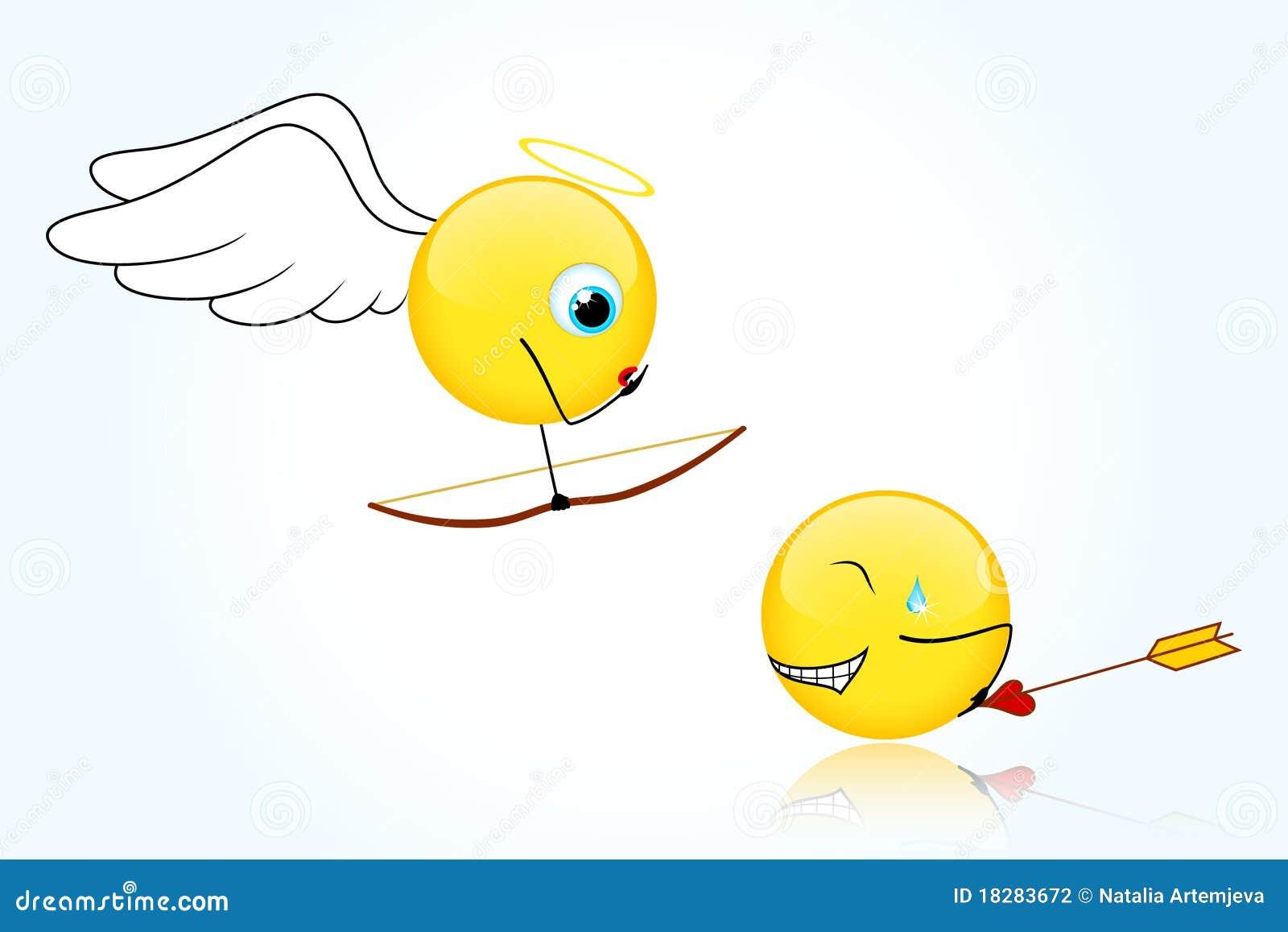 Błękitny tło dzień s uśmiecha się valentine