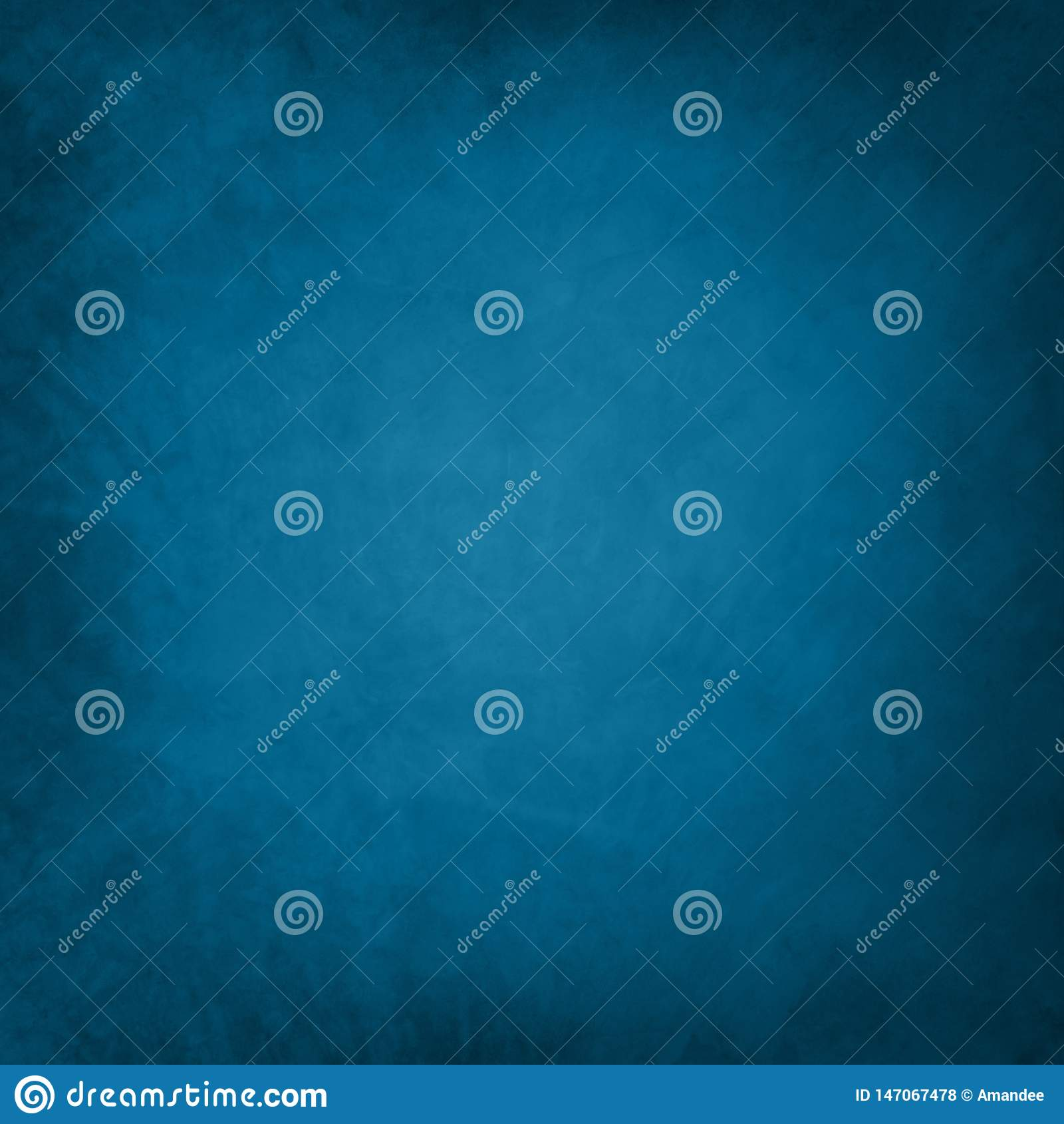 Błękitny tło z słabo rocznika grunge teksturą, starym papierowym ilustracyjnym projektem dla graficznej sztuki układów lub szablo