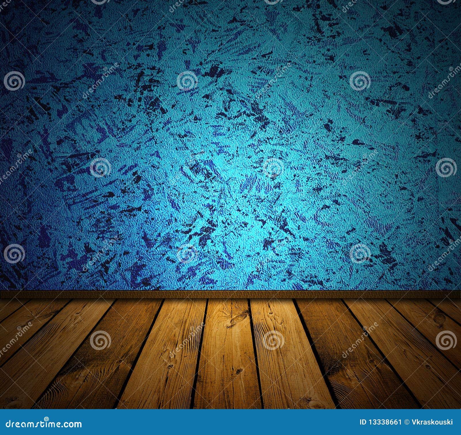 Błękitny wewnętrzny rocznik