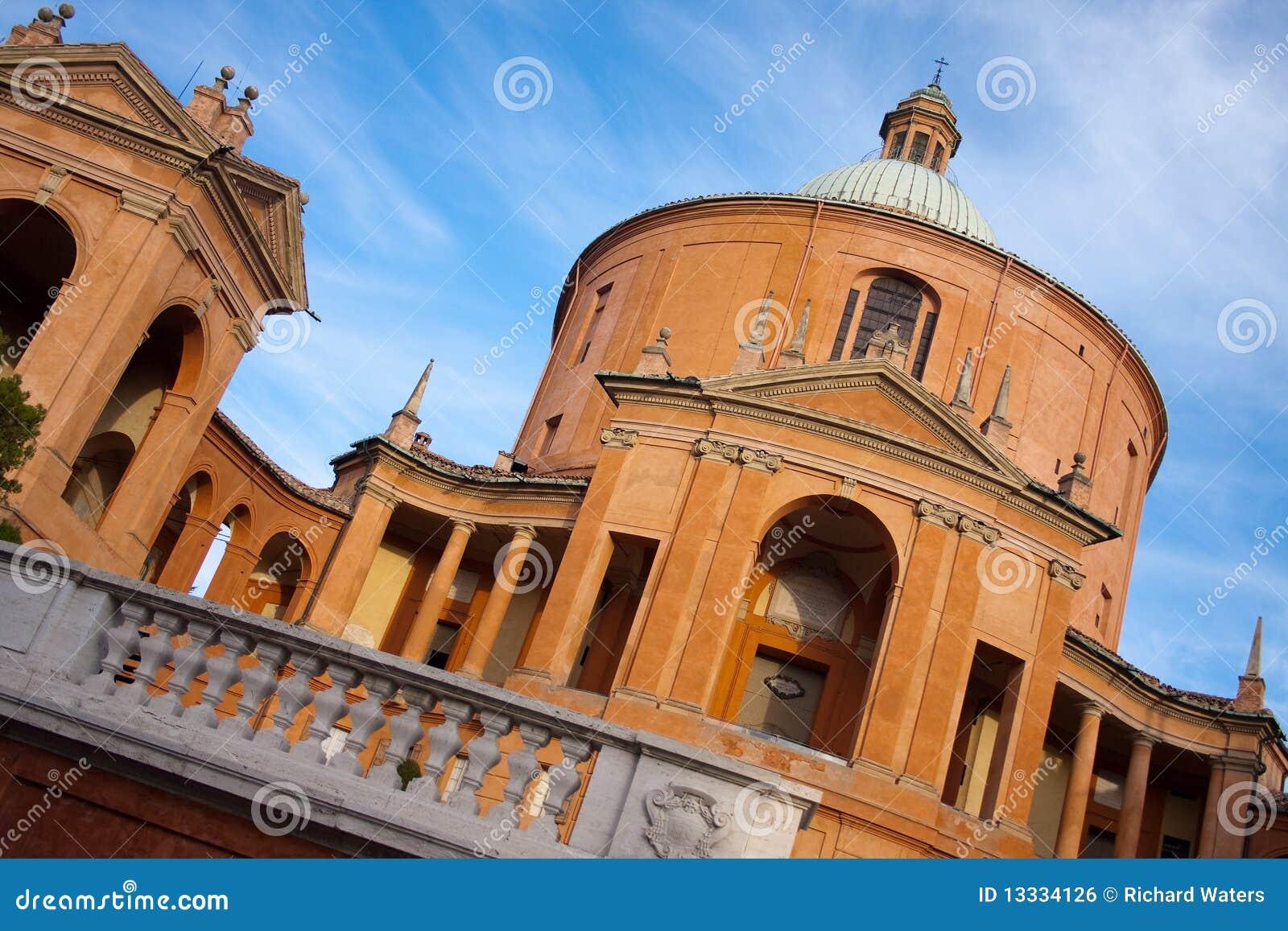 Błogosławiona Luca San sanktuarium dziewica