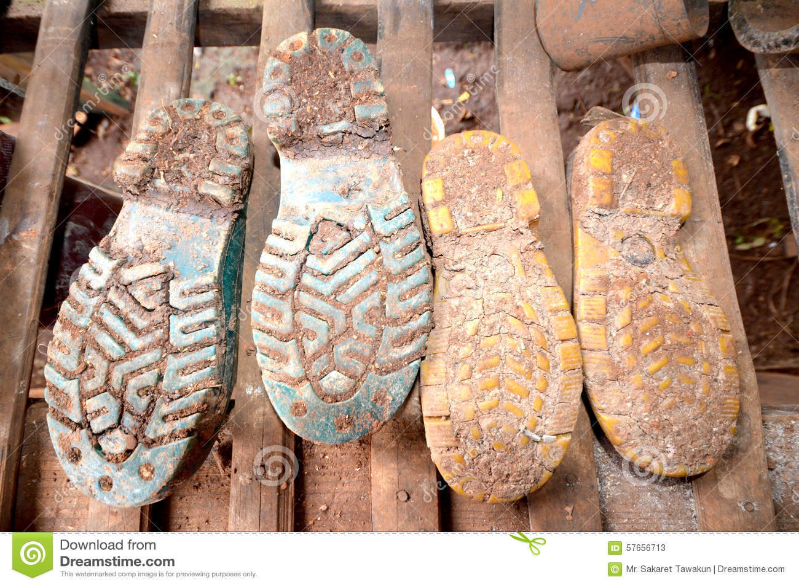 Błotniści buty