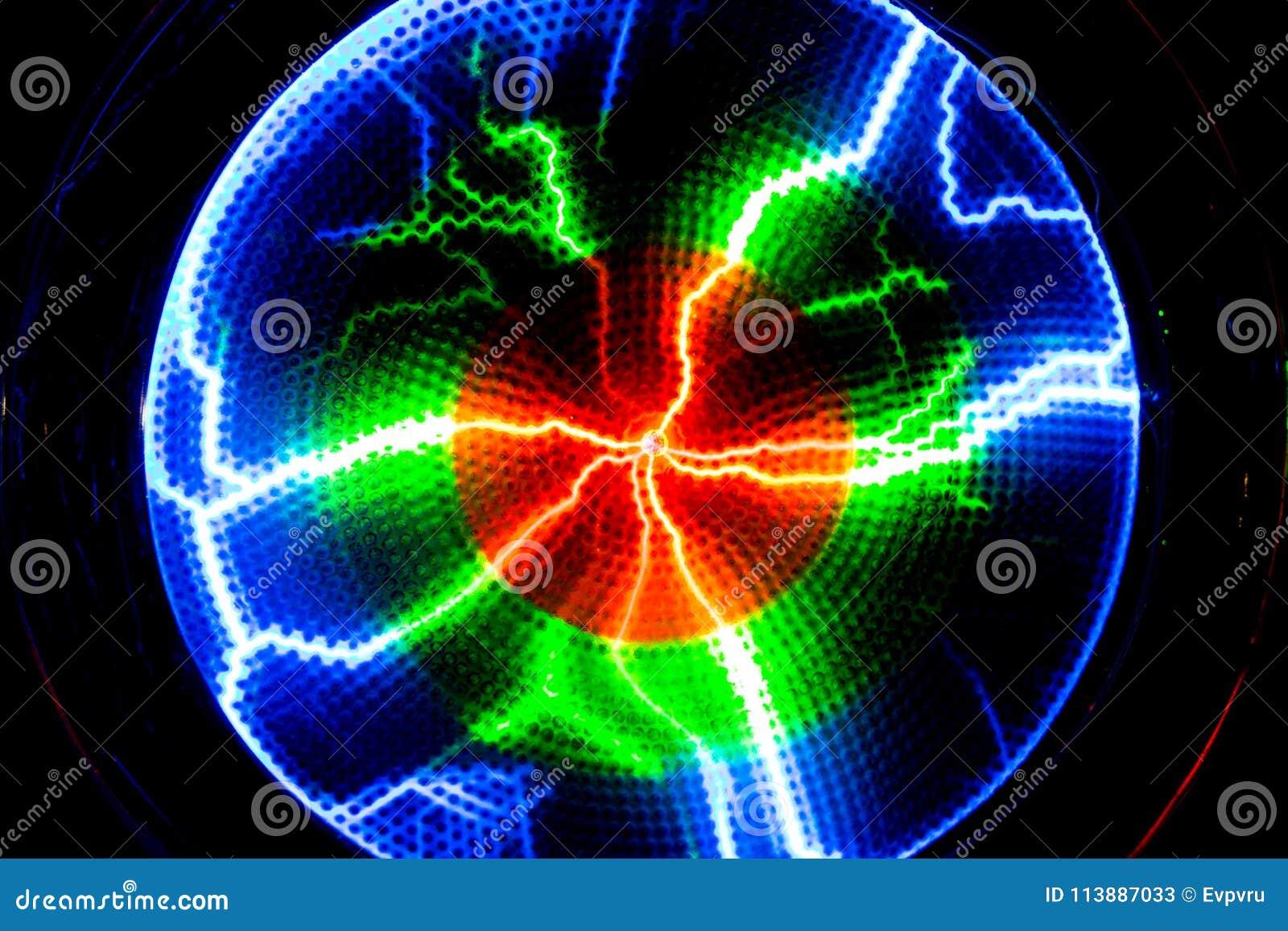 Błyskawica błysku rozładowanie elektryczność na przejrzystym backgrou