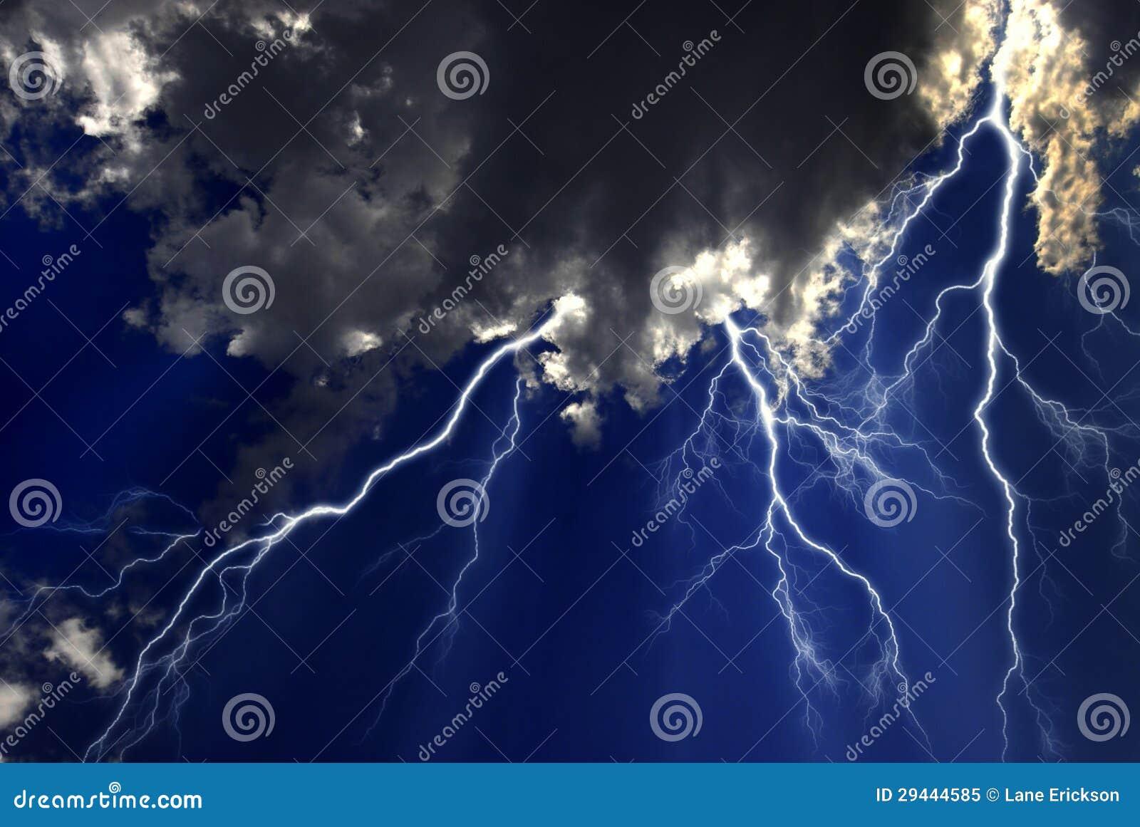 Błyskawicowa burza