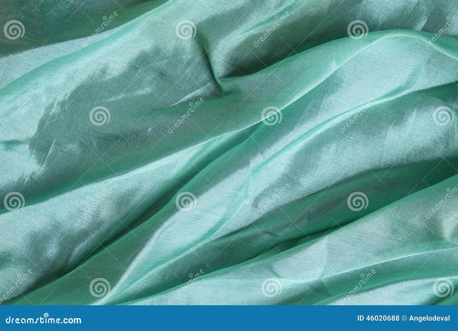 Błyszczącego aqua błękitna jedwabnicza chusteczka