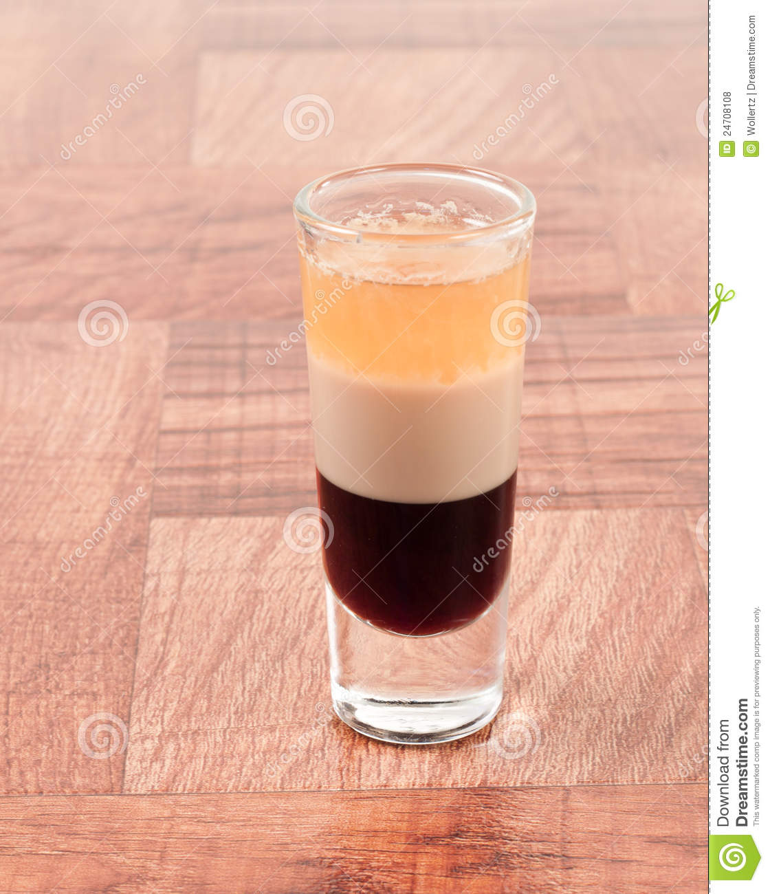 B-52 Shot Stock Photo. Image Of Irish, Cream, Stack, Black