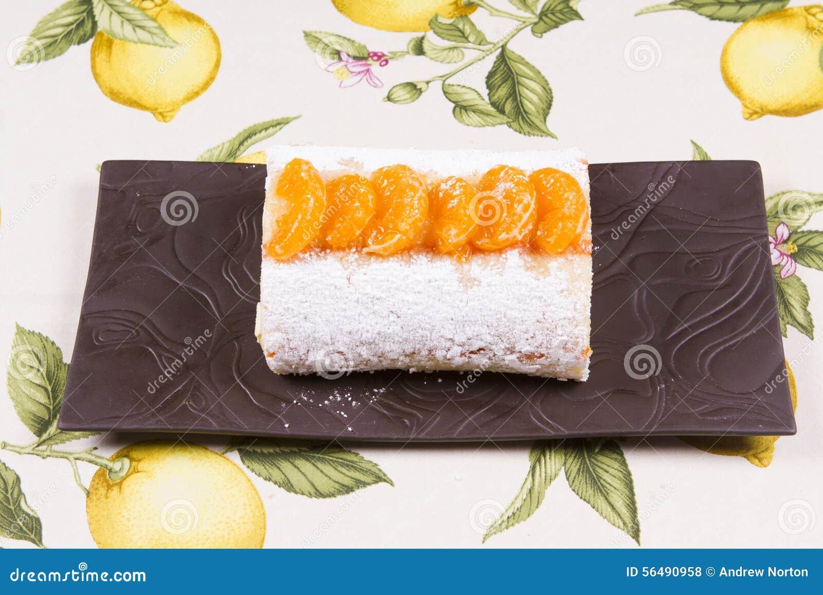 Bûche orange