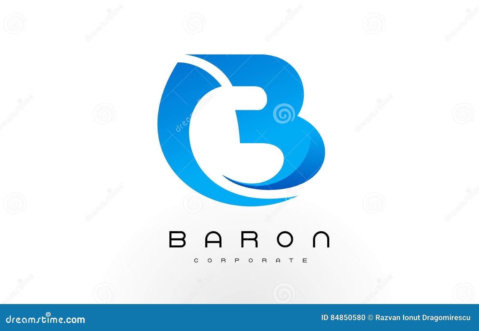 B Logo Blue B Letter Icon Design Vector Vector