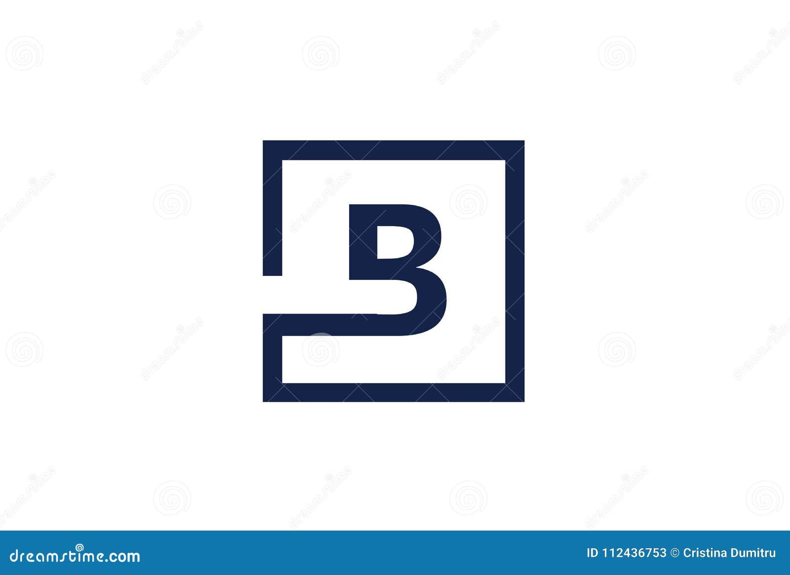 B Logo b logo design design concept element stock vector - illustration of
