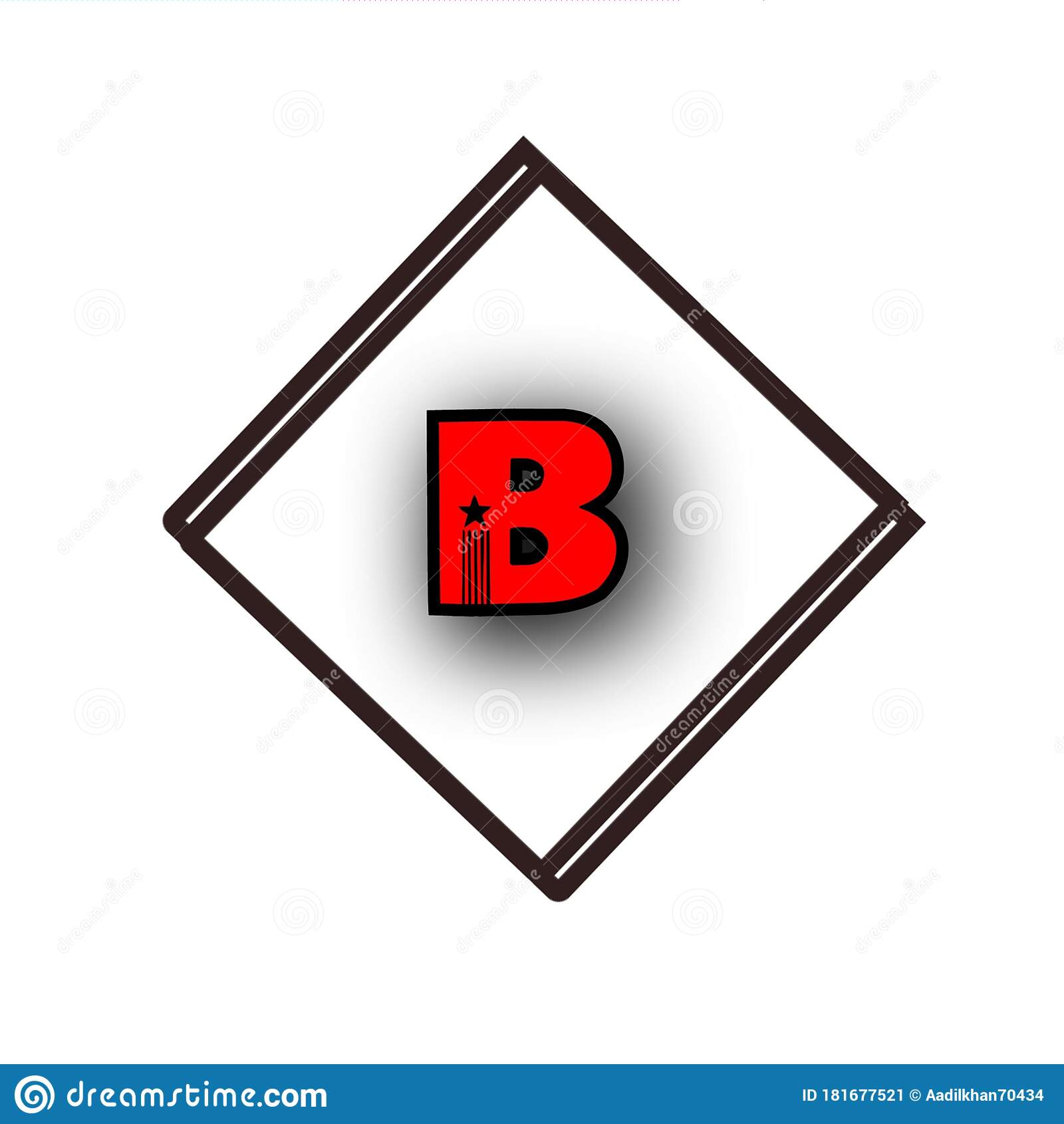 B Name Logo Wallpaper On Background ...