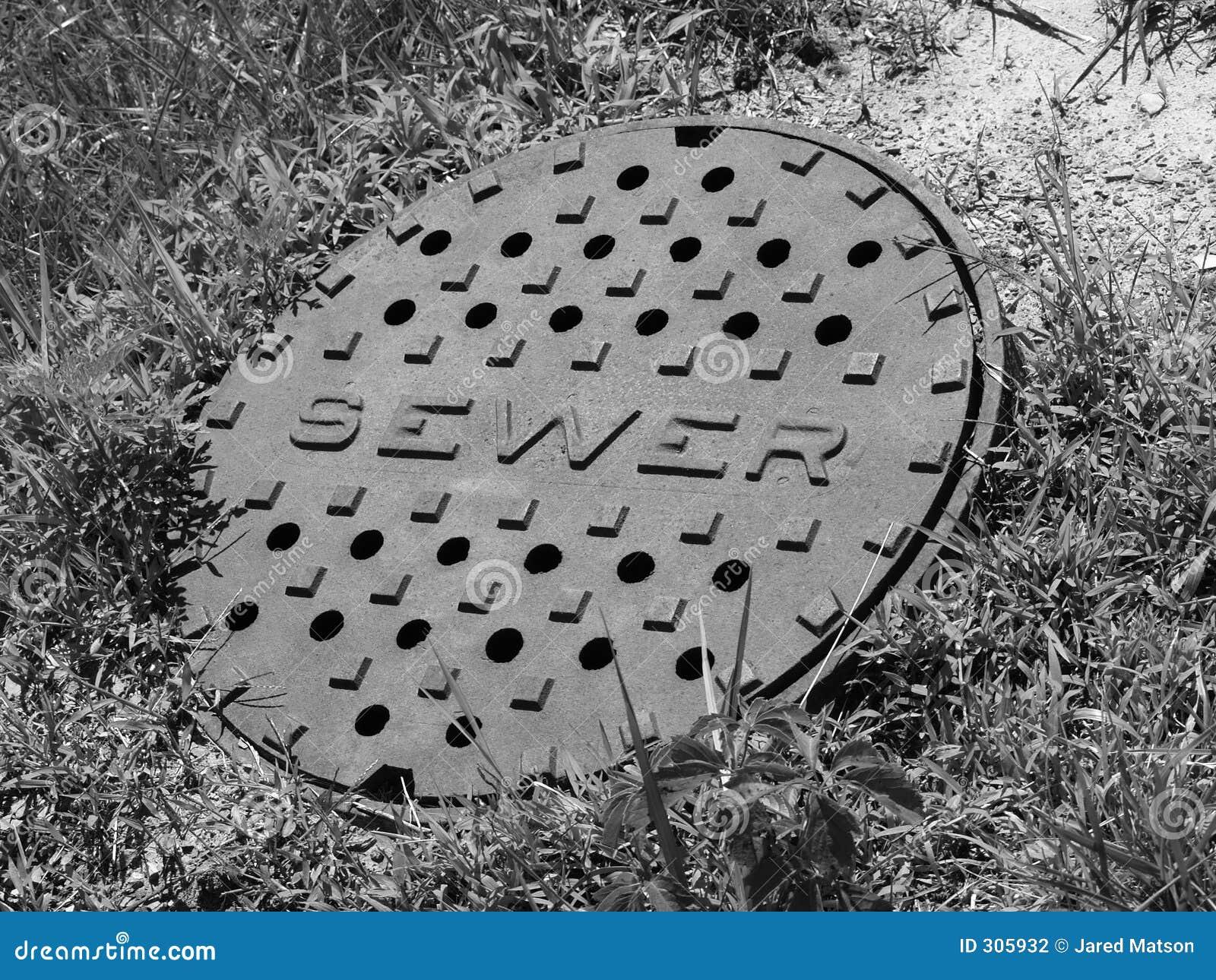 B obejmuje kanału ściekowego w