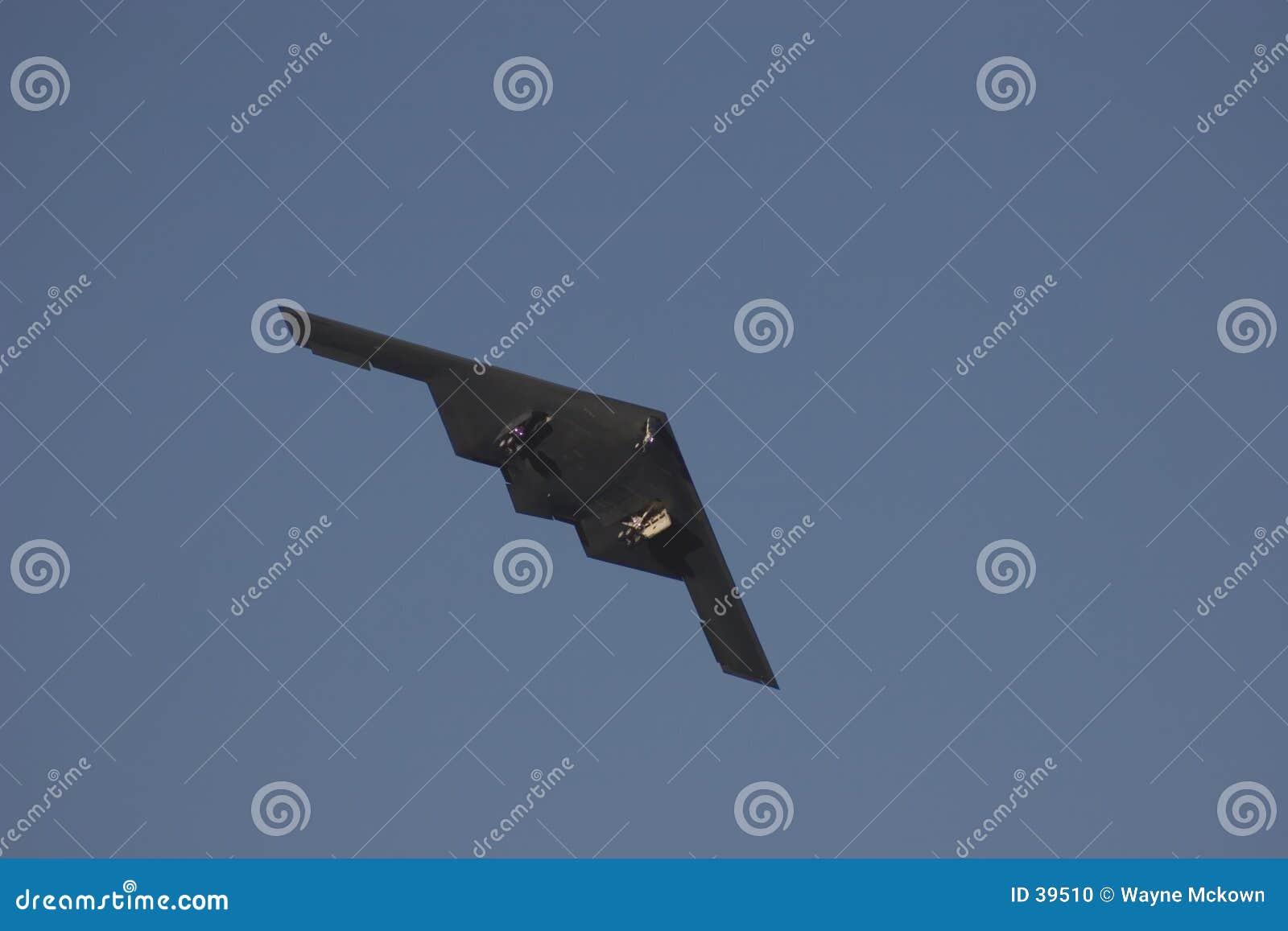 B2 Bomber taking off.