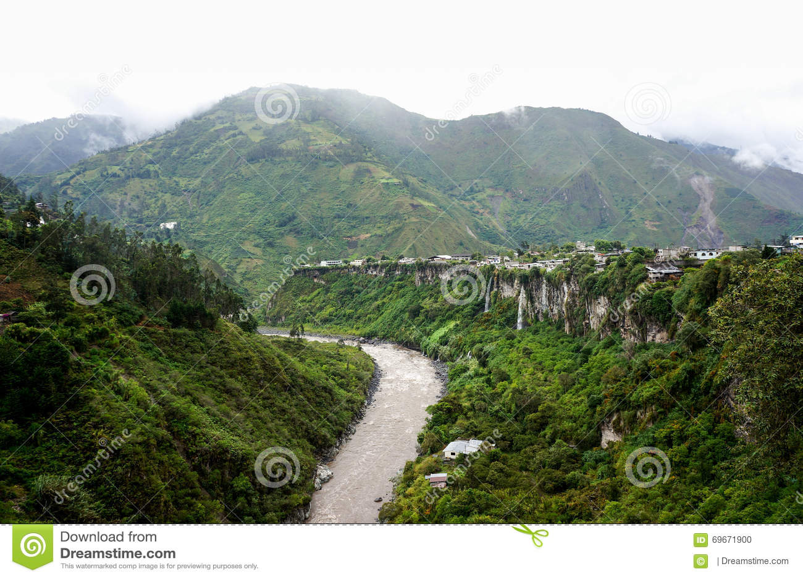 Baños, эквадор